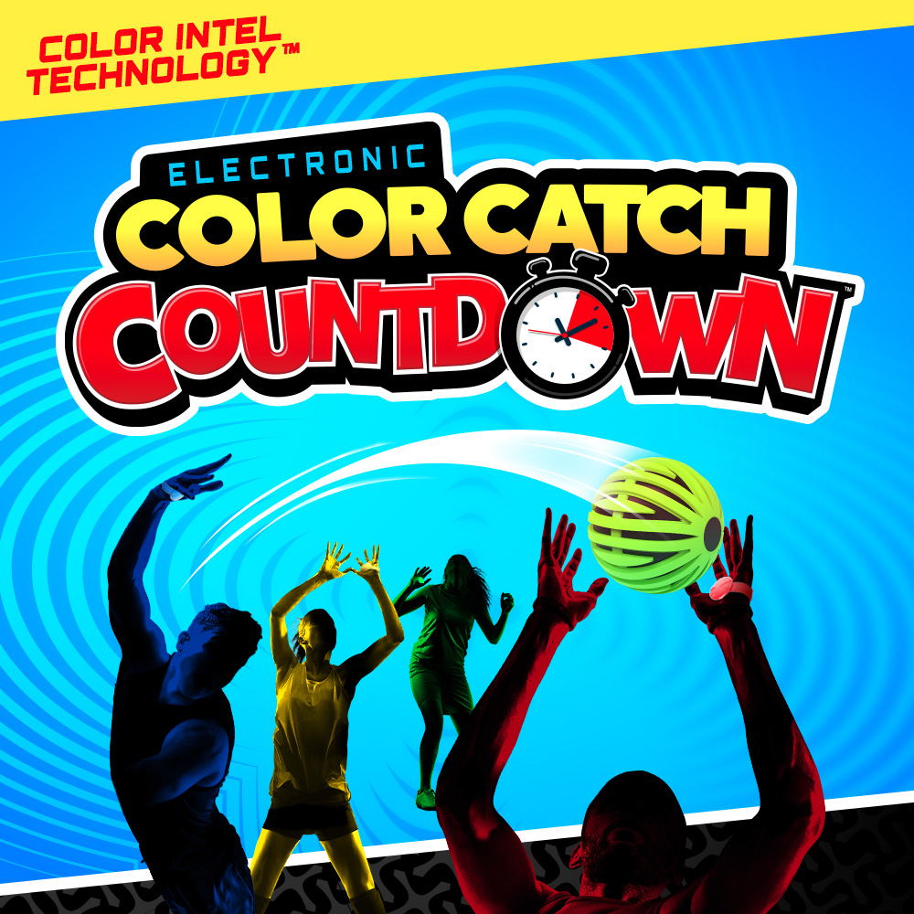 Color Catch Countdown Ball