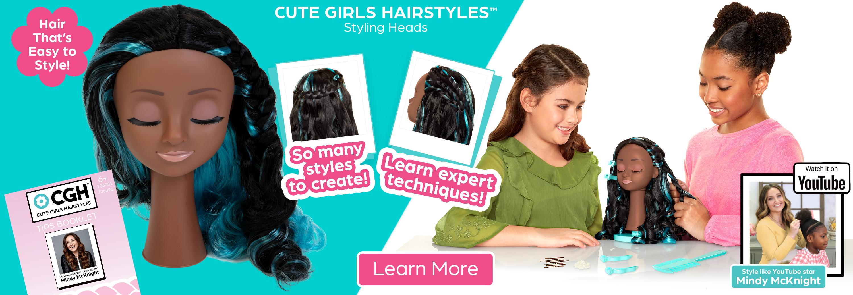 JAKKS Pacific, Inc. - Cute Girls HairStyles