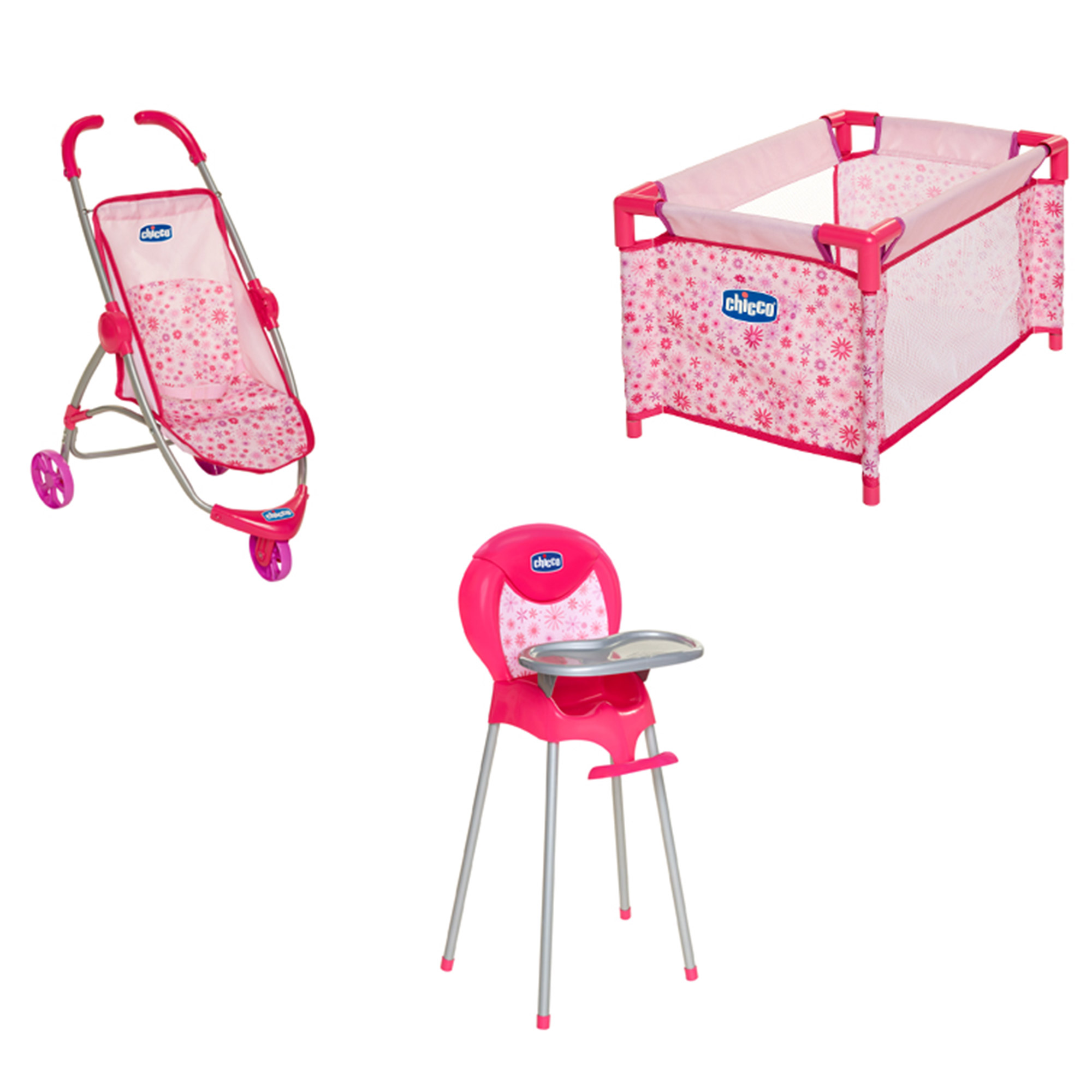 Chicco Baby Doll Nursery Time Fun Set