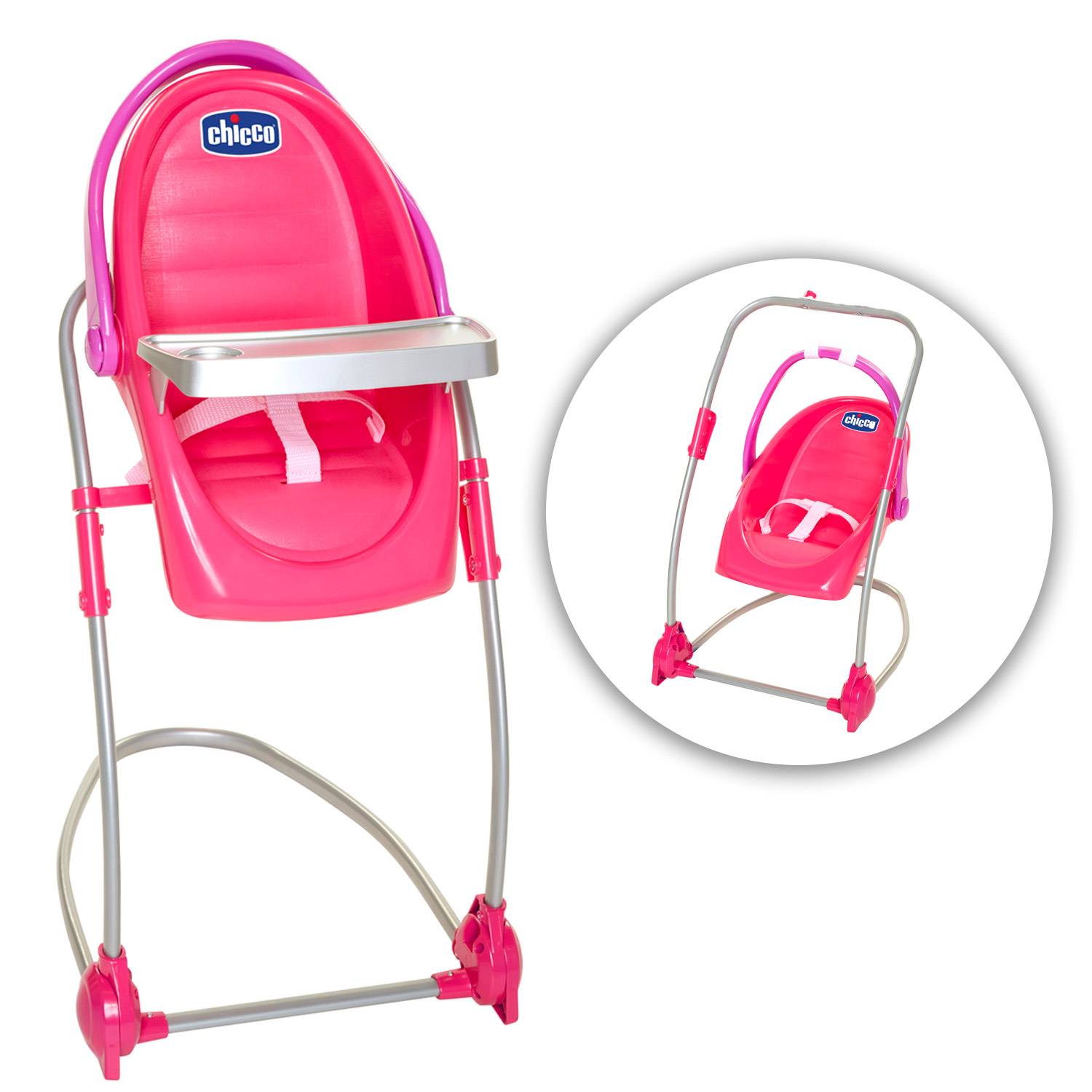 Chicco Eat & Swing Doll Highchair