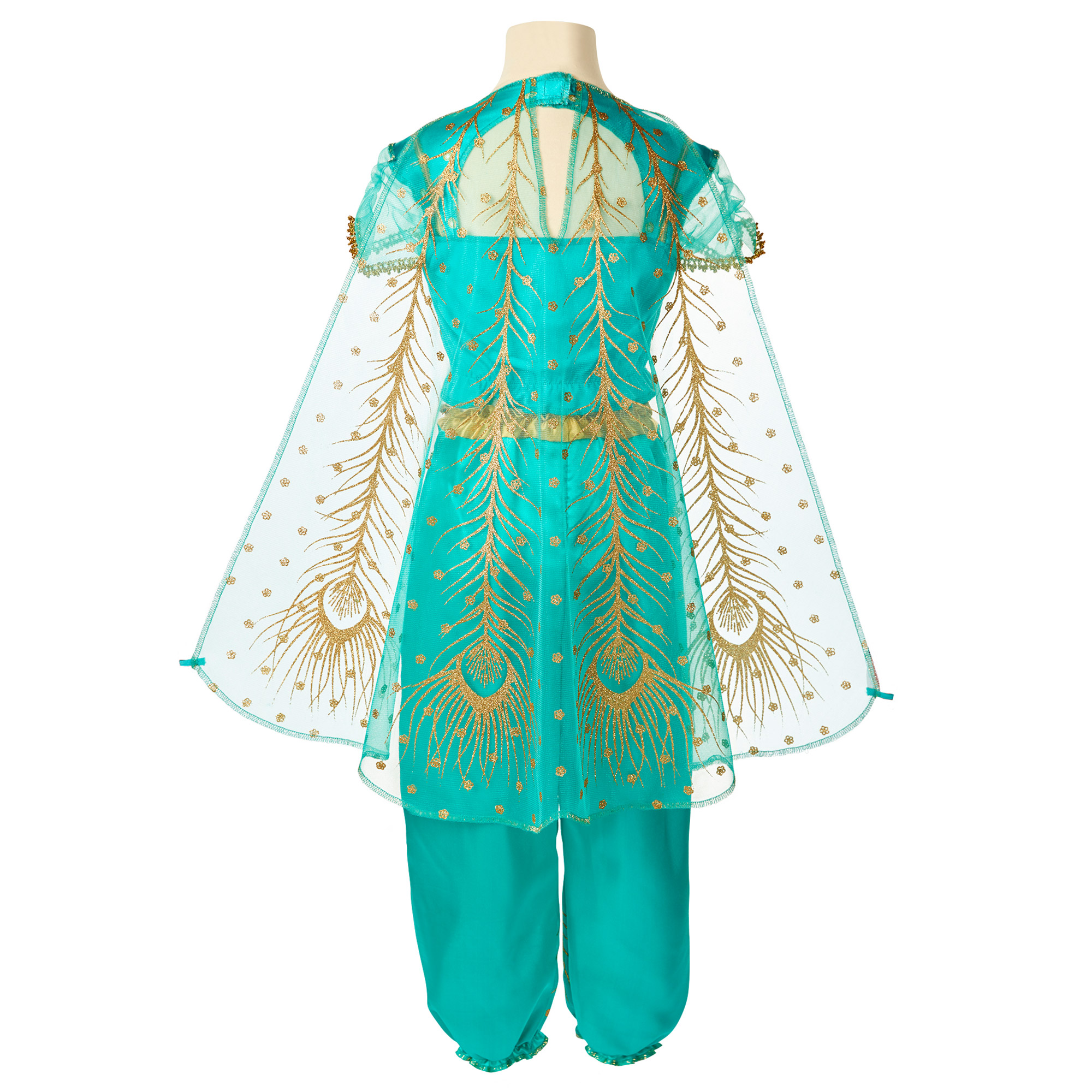 Disney Aladdin Jasmine Teal Dress