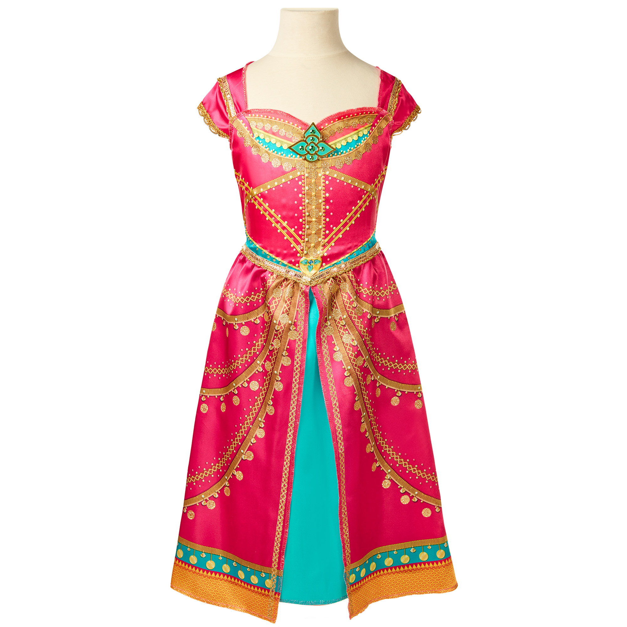 Disney Aladdin Jasmine Pink Dress