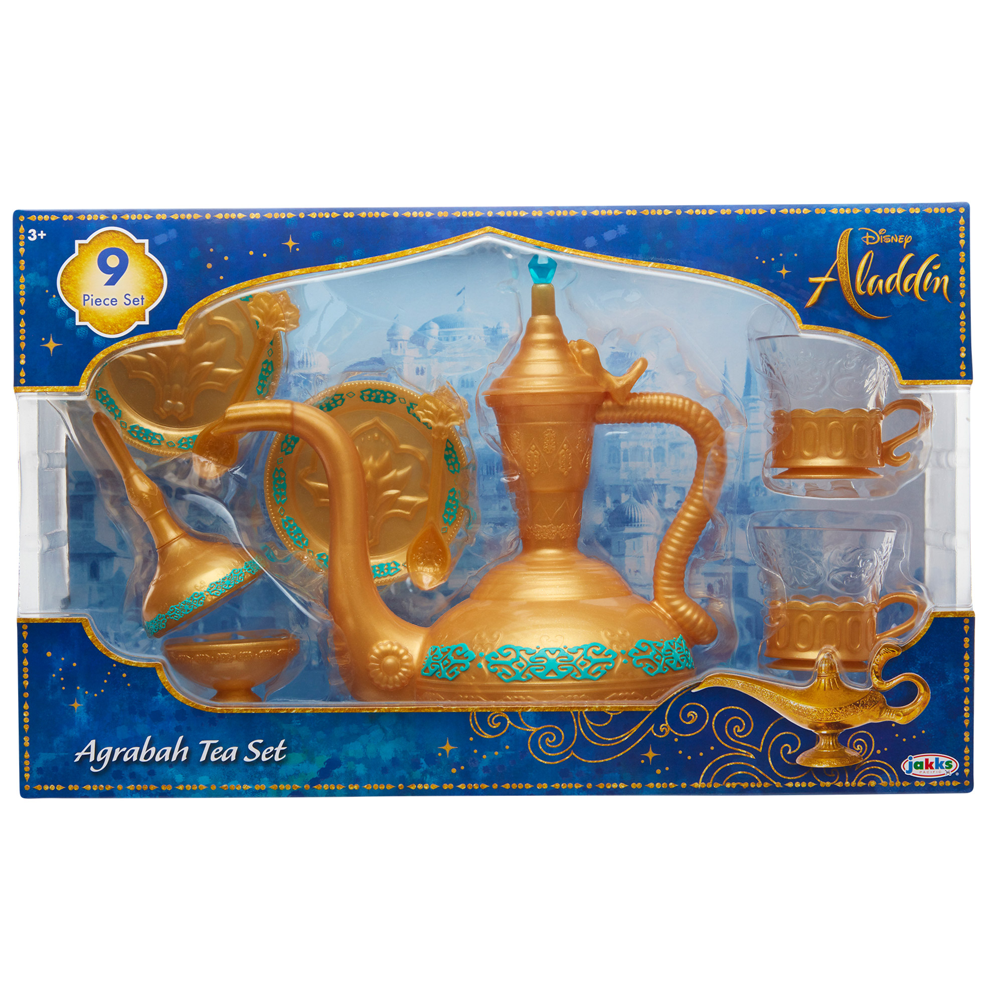 Disney Aladdin Arabian Inspired Tea Set