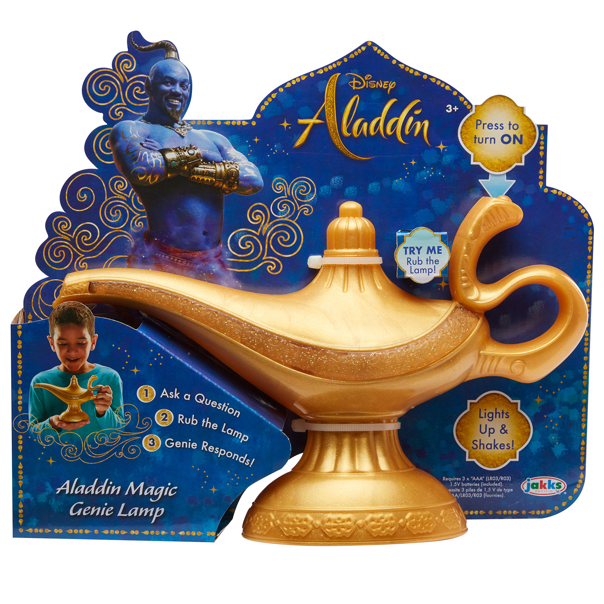 Disney Aladdin Feature Genie Lamp
