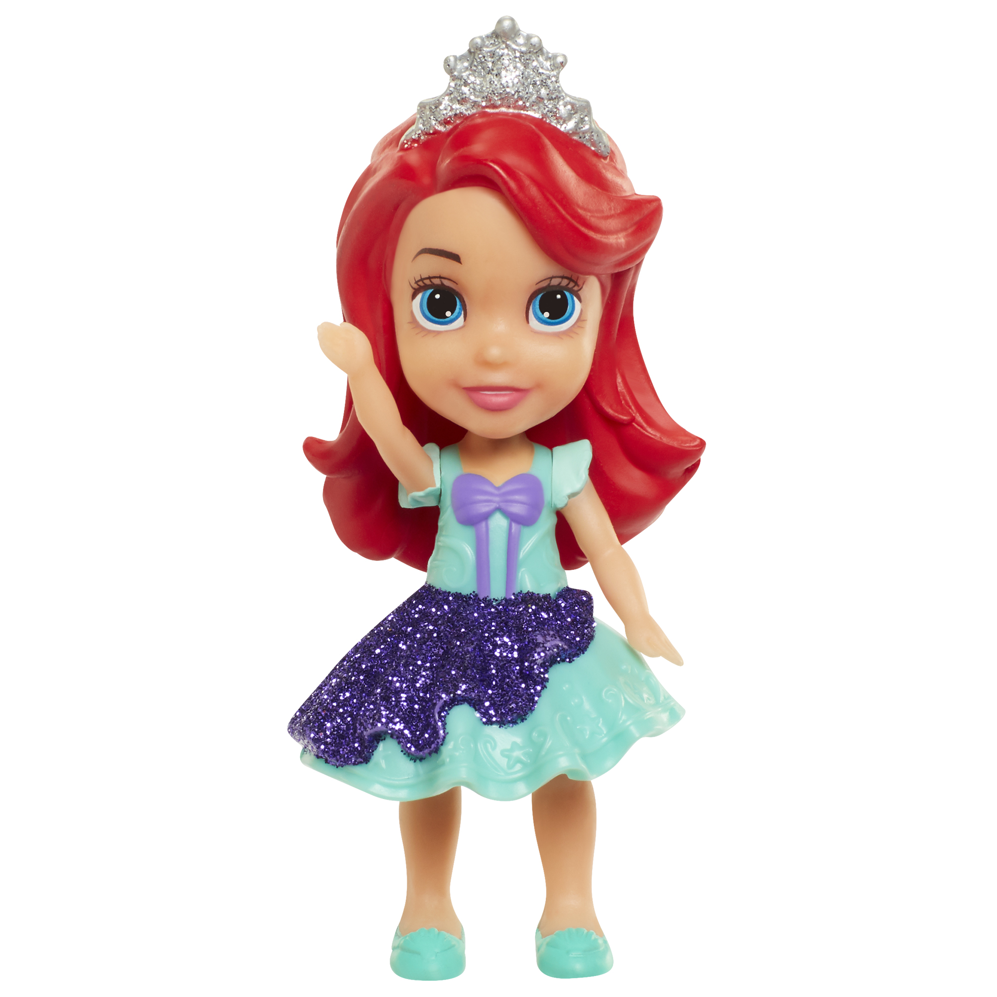Ariel 3 inch Mini Toddlers Doll Disney Princess