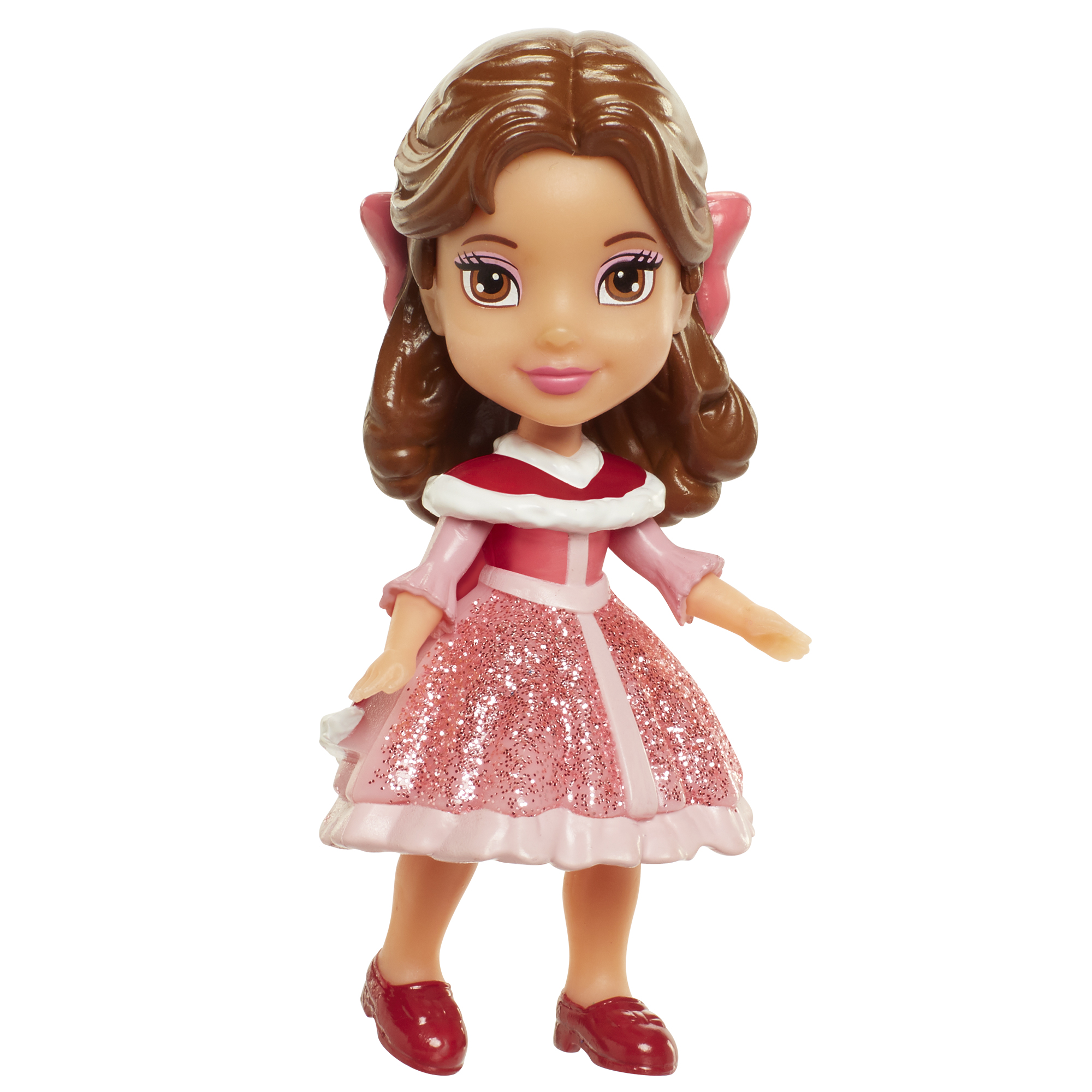 Belle 3 inch Mini Doll (Red Dress) Disney Princess