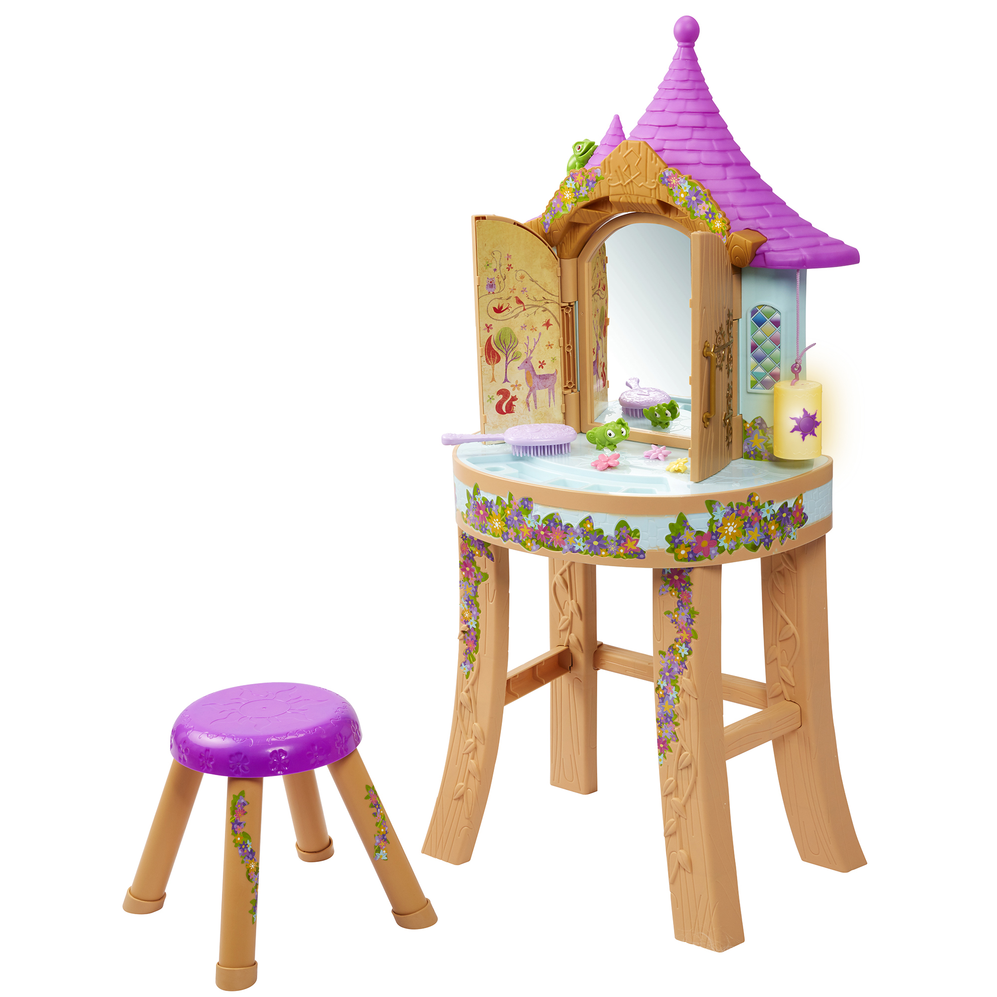 Rapunzel Tower Vanity Disney Princess