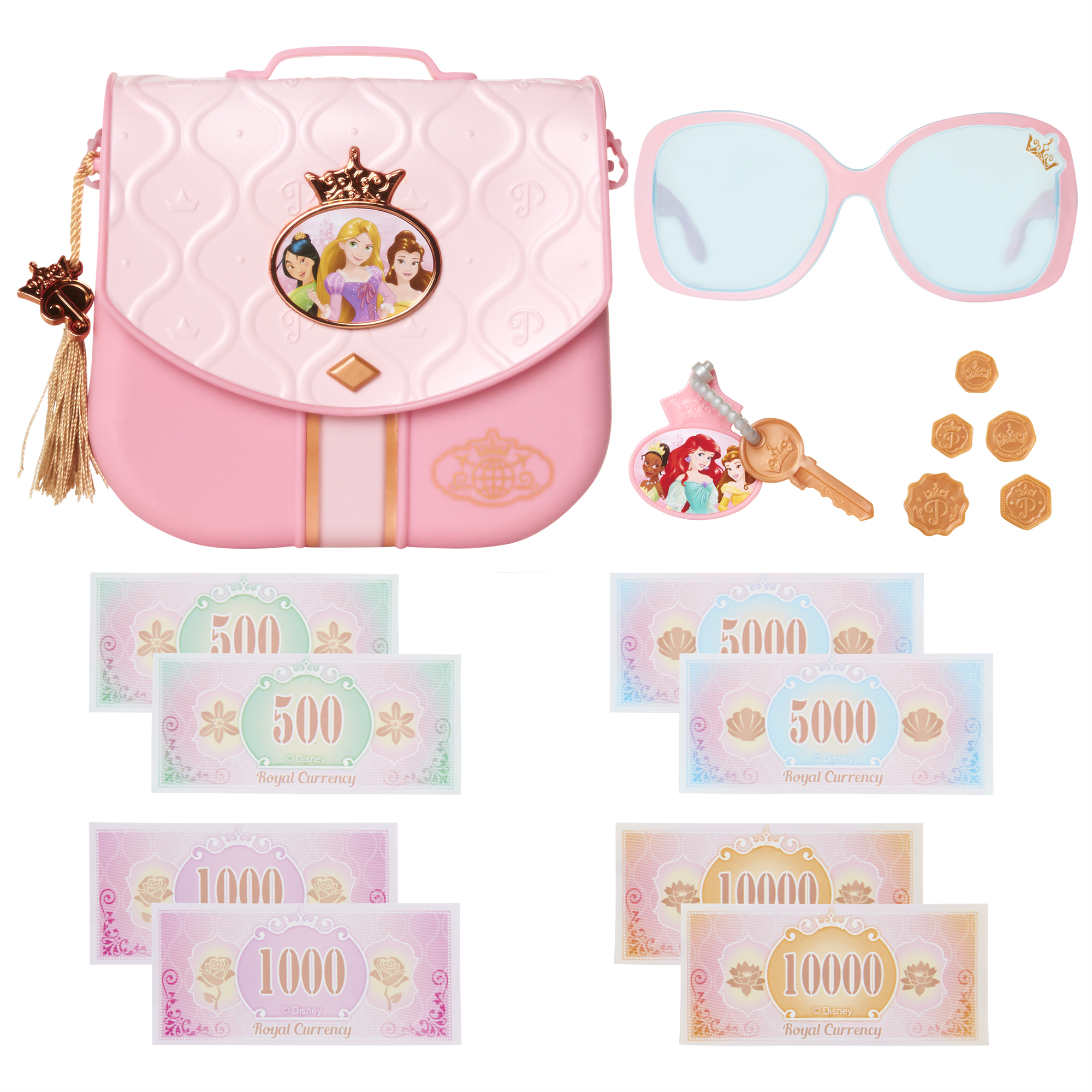 Disney Princess Style Collection World Traveler Purse