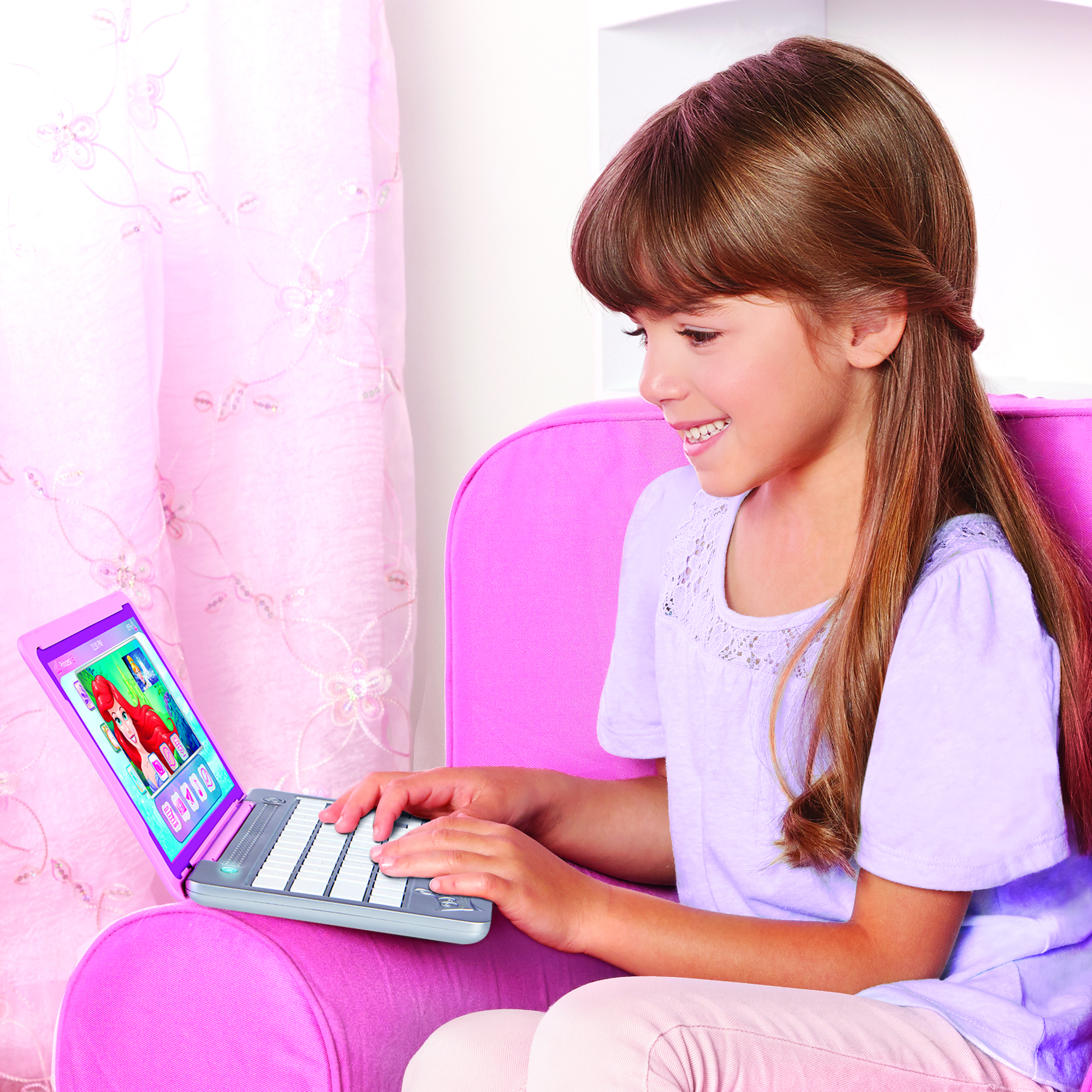 Disney Princess Style Collection Click & Go Play Laptop