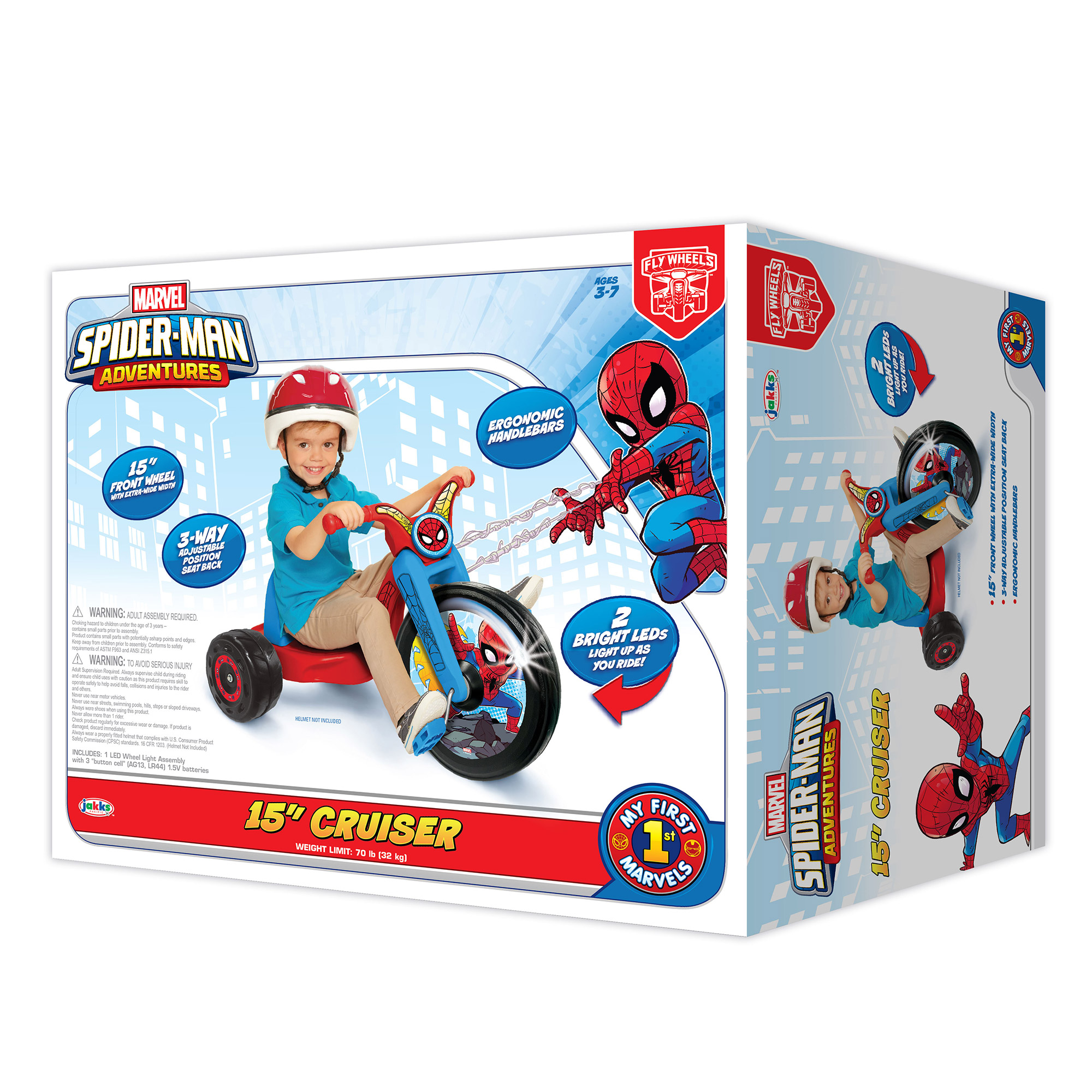 Fly Wheels Spiderman