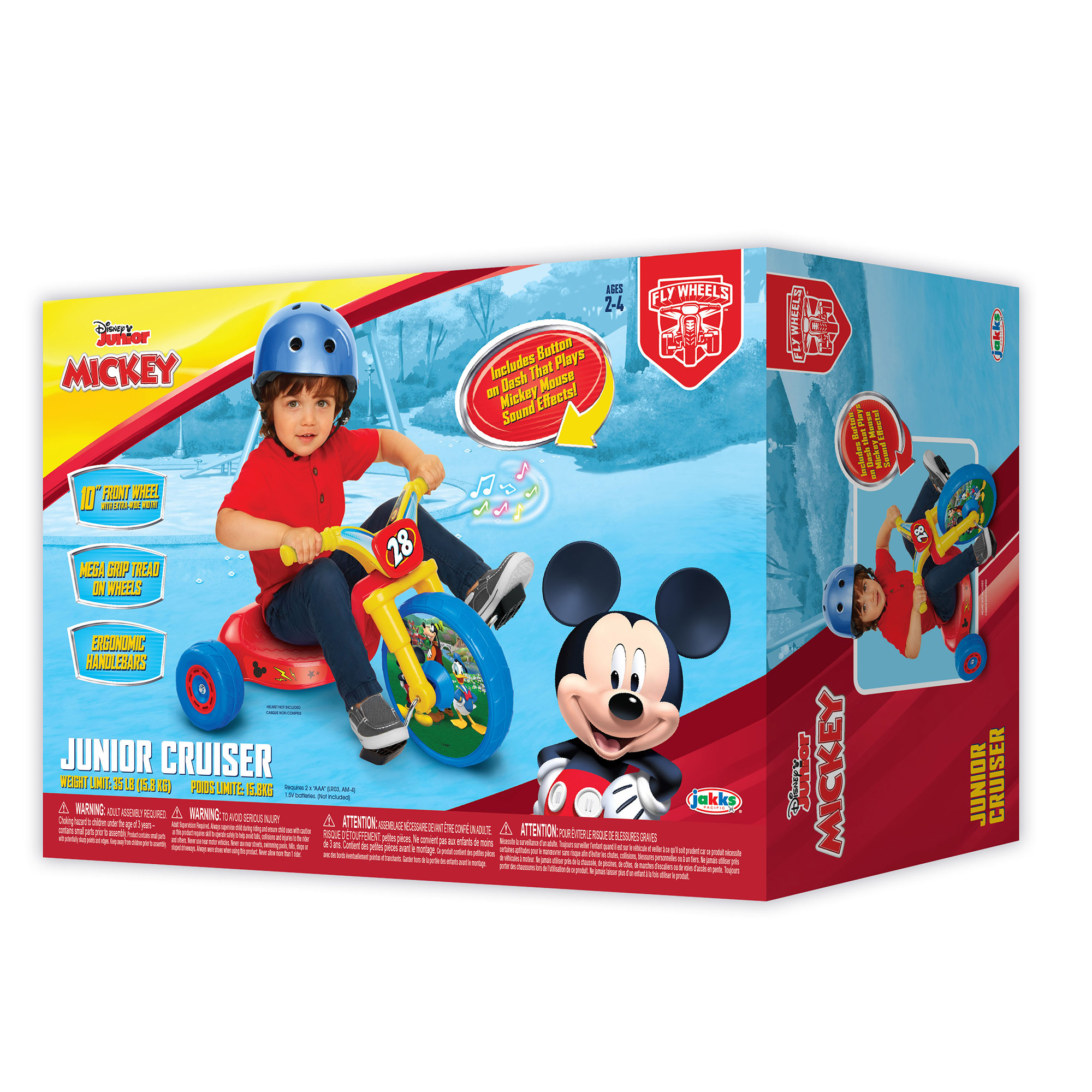 Fly Wheels Mickey Mouse