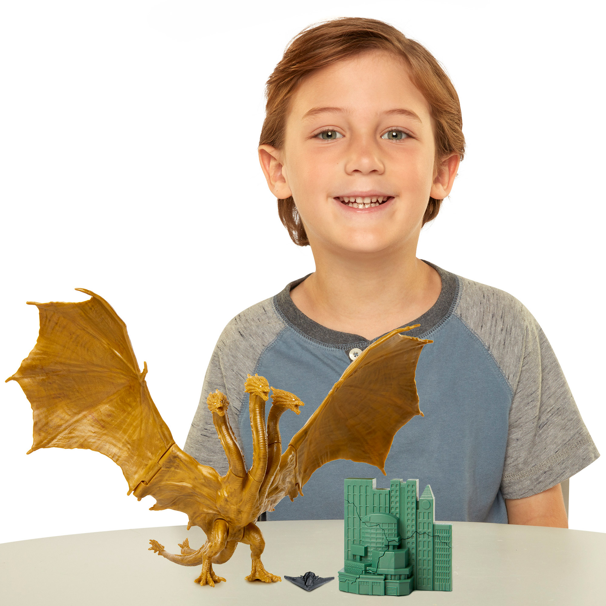 Godzilla: King of the Monsters 6in Monster Packs King Ghidorah