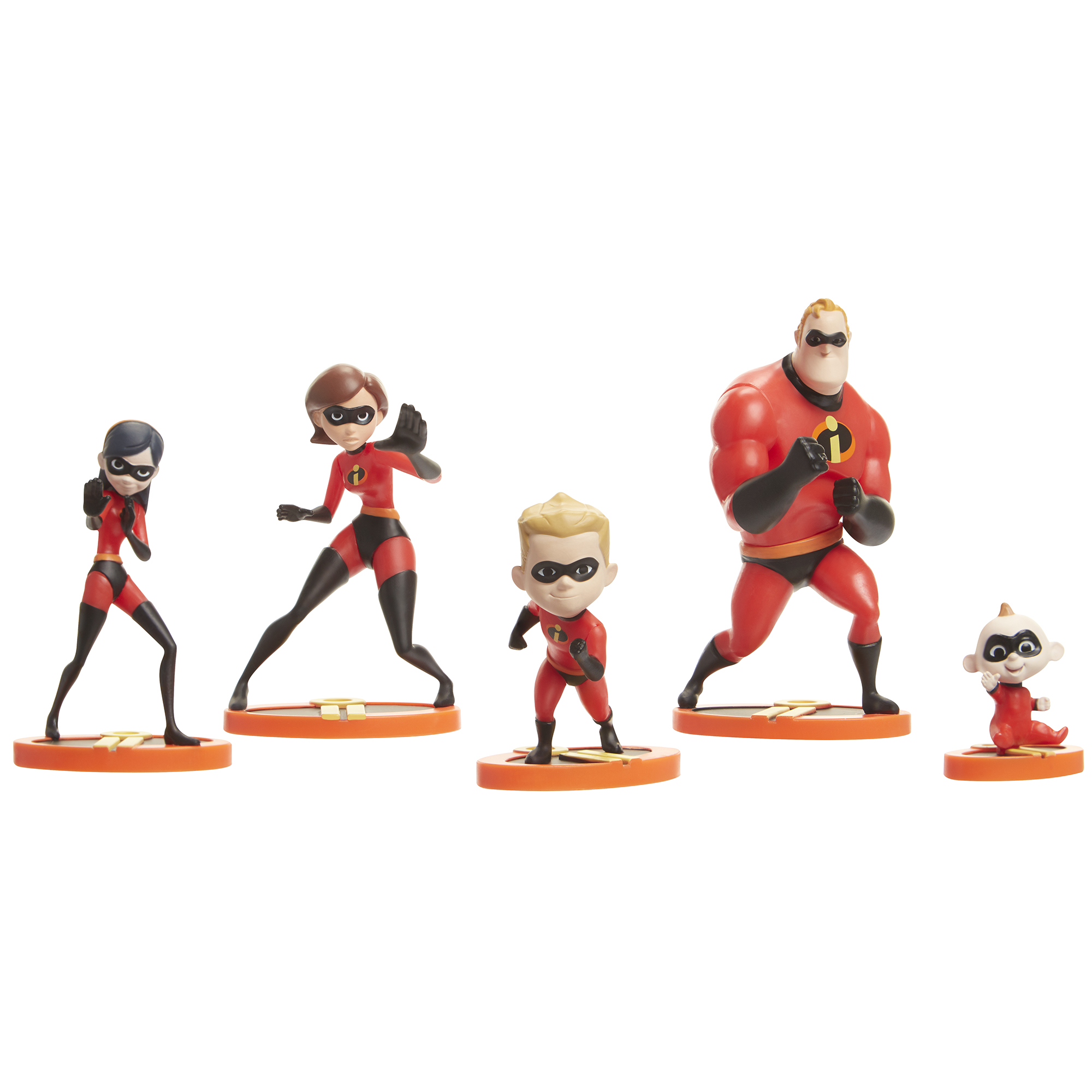 Incredibles 2 Family Figurine Set