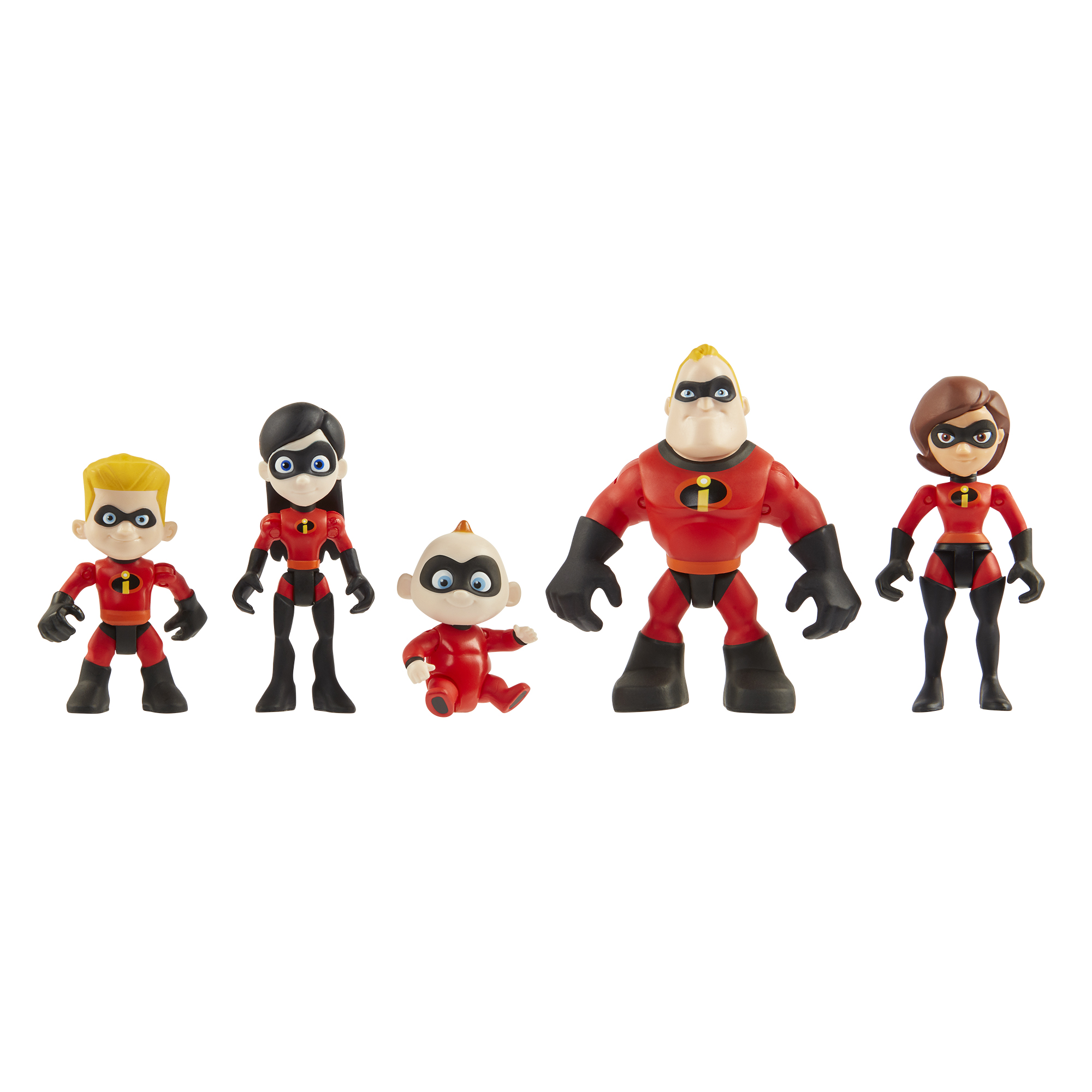 Junior Supers family pack of figures