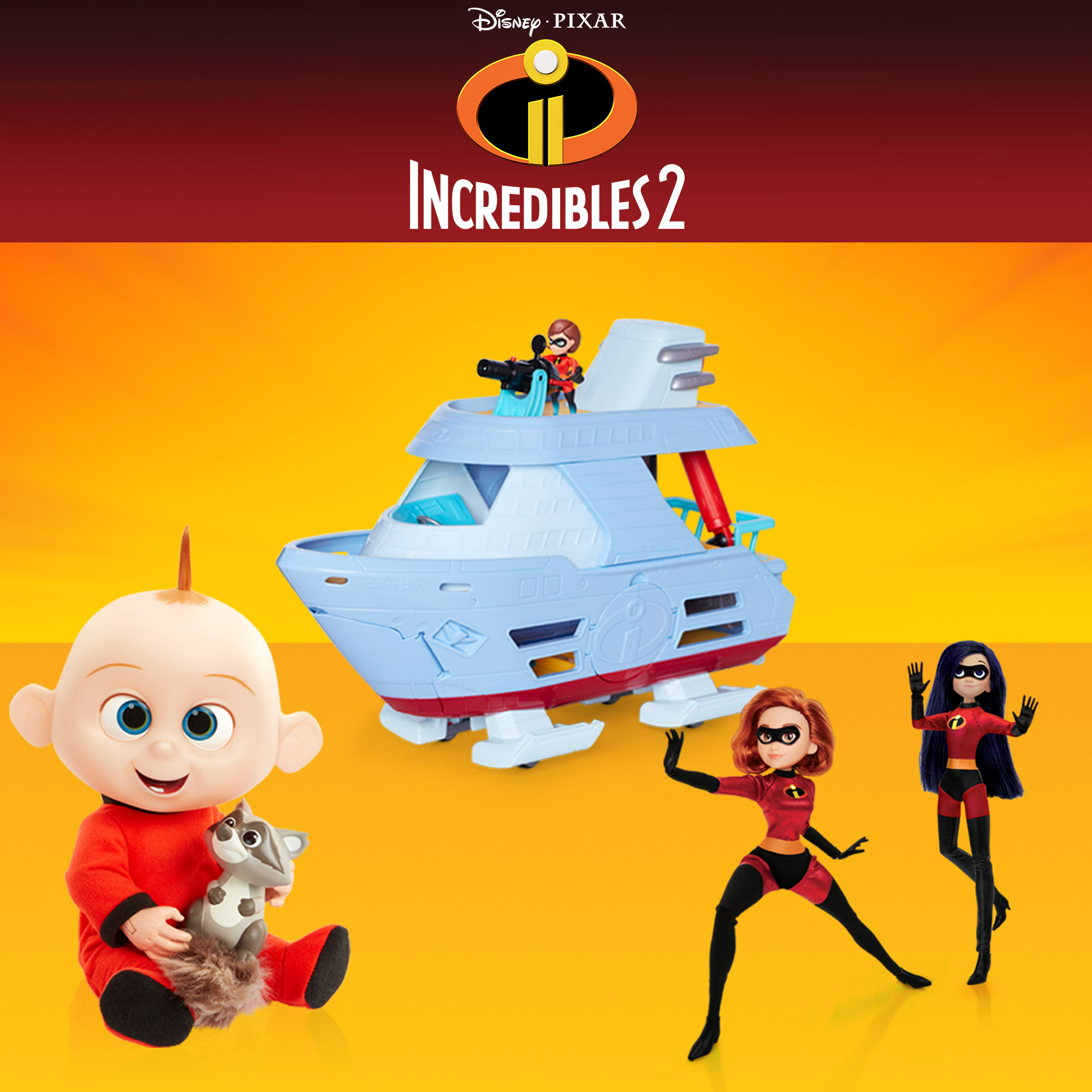 Disney Incredibles 2 Collection