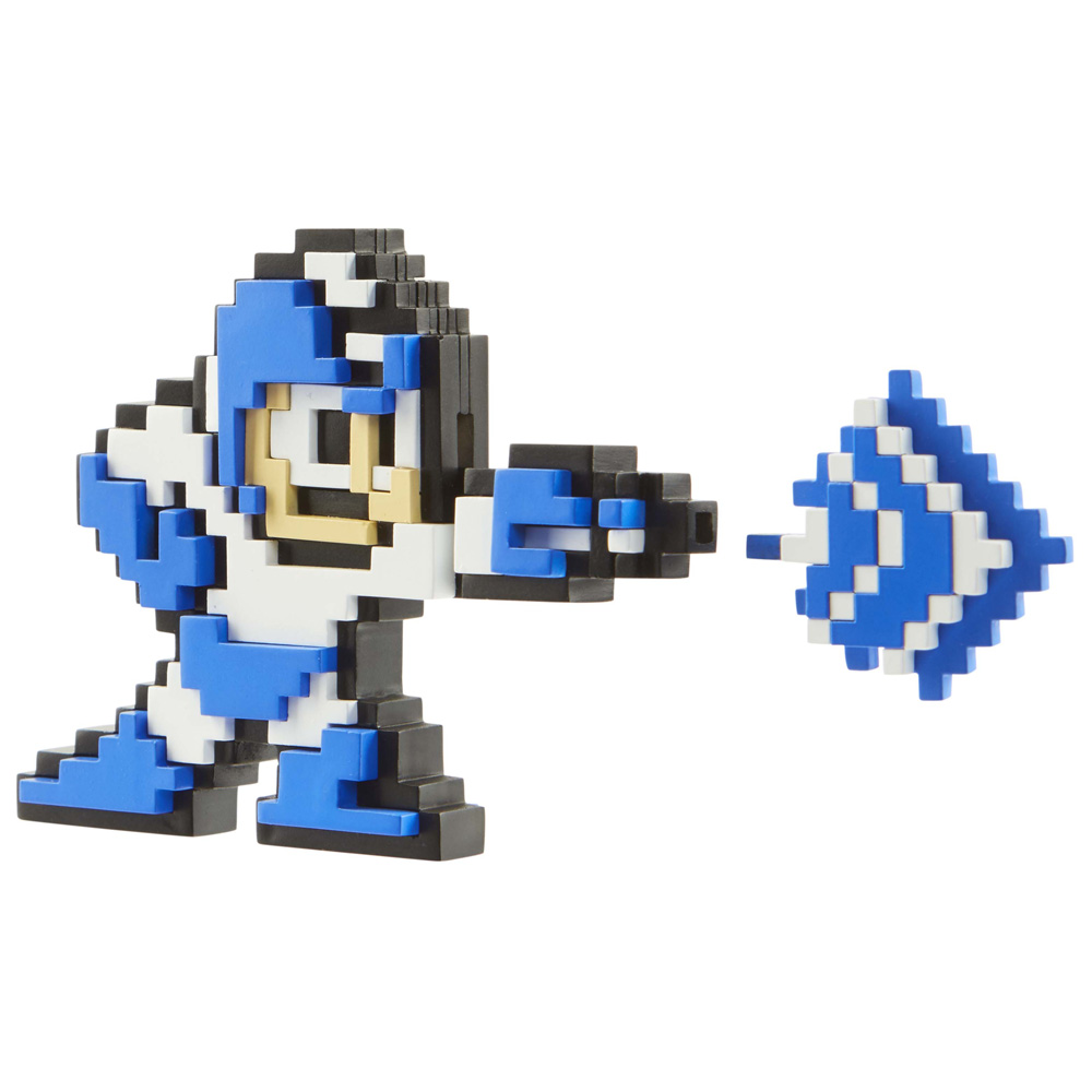 Mega Man - Blue/White Mega Man v Fire Man