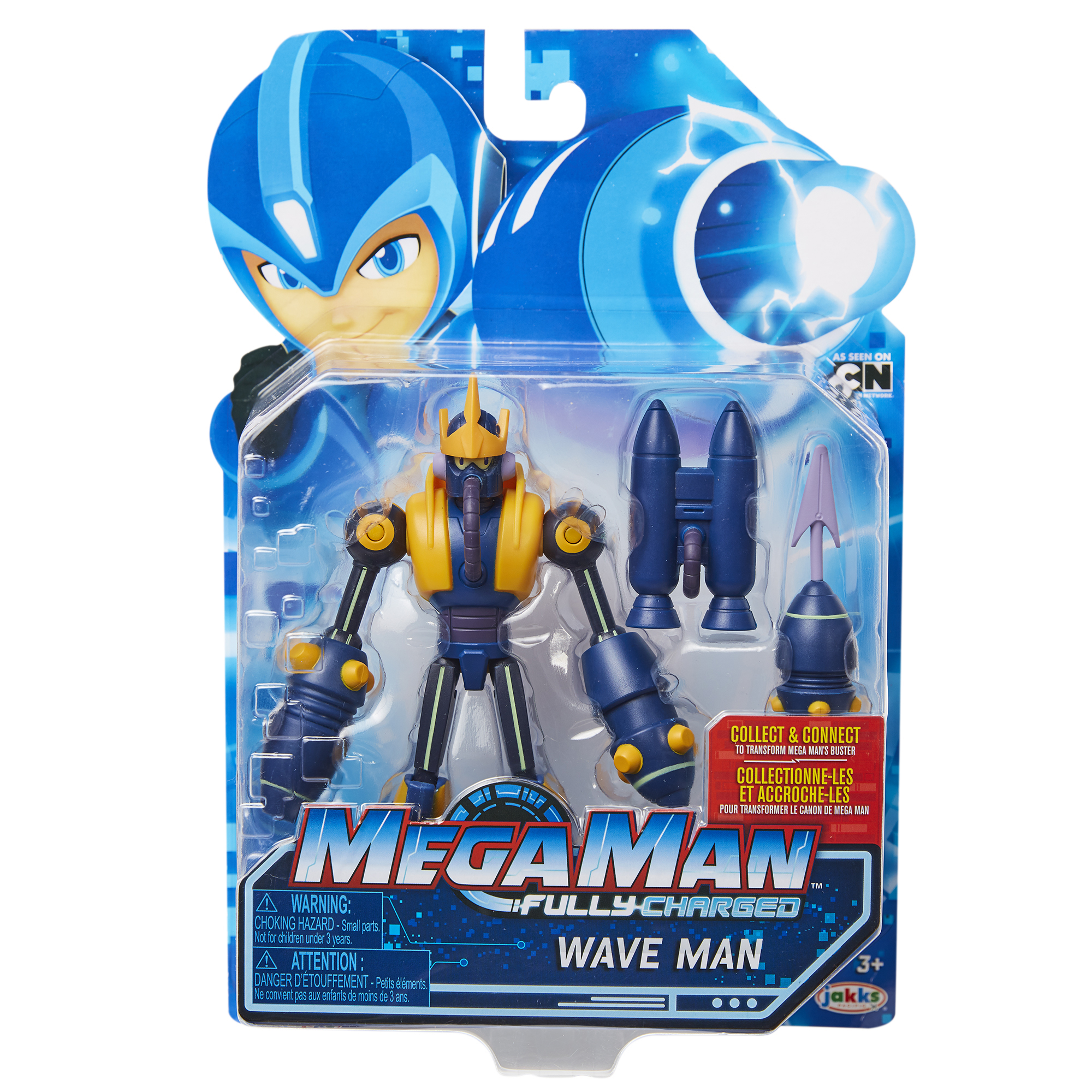 Mega Man 6 Wave Man with Cannon Accessory