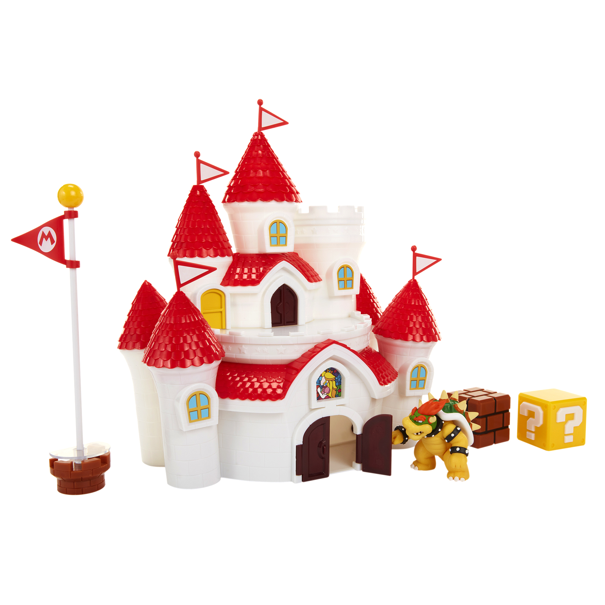 Super Mario 2.5 Mushroom Kingdom Castle Playset