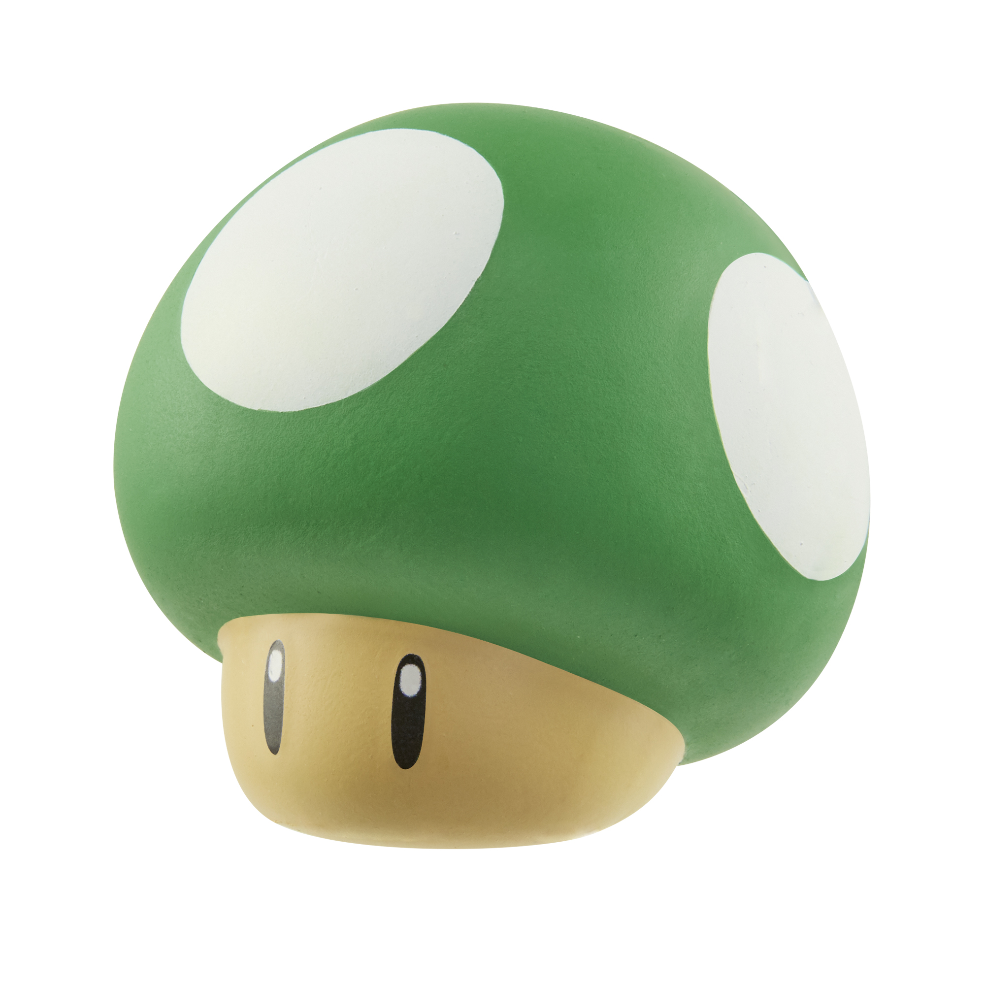 Super Mario Squish Dee-Lish Green Mushroom (1-UP)