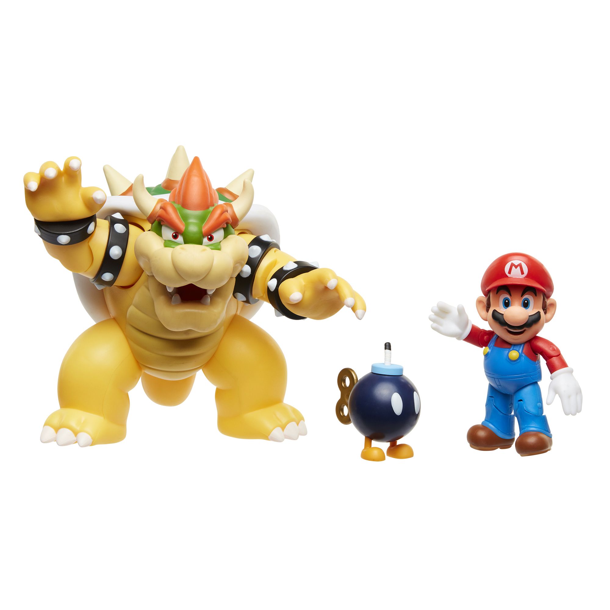 Super Mario Mario vs. Bowser Diorama Set