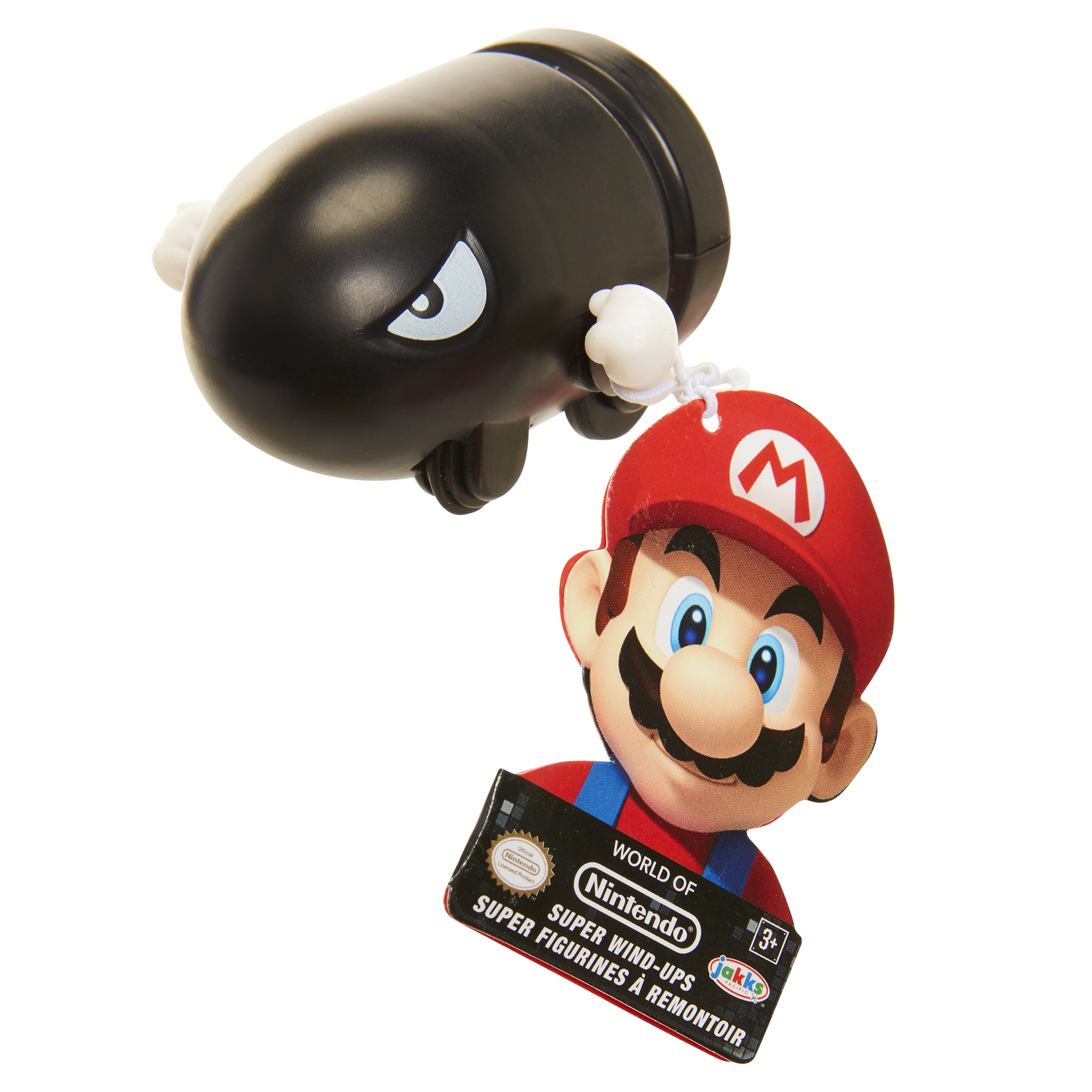 Super Mario Wind Up Toys Bullet Bill
