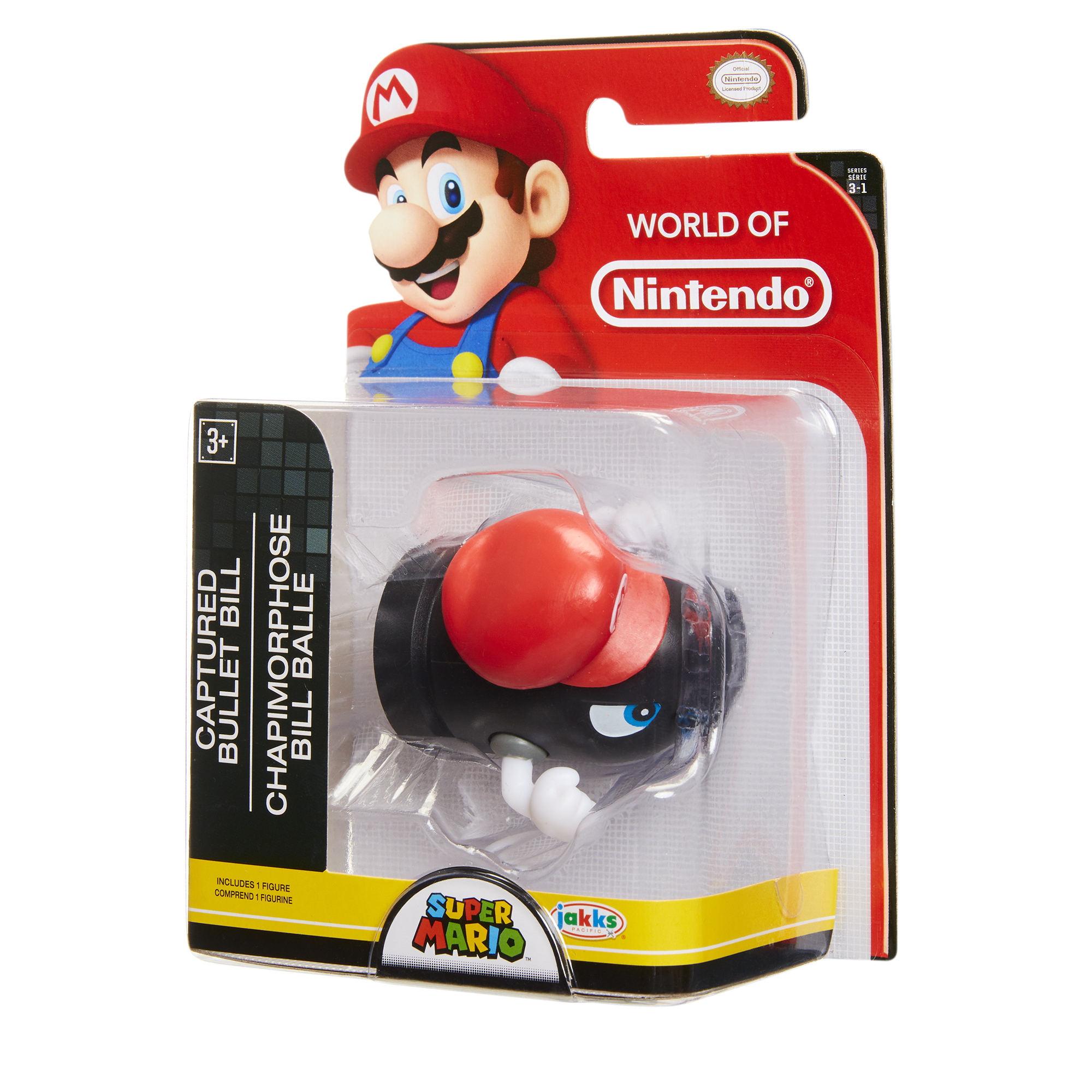 Super Mario 2.5 Limited Articulation Wave 16 Cappy Bullet Bill