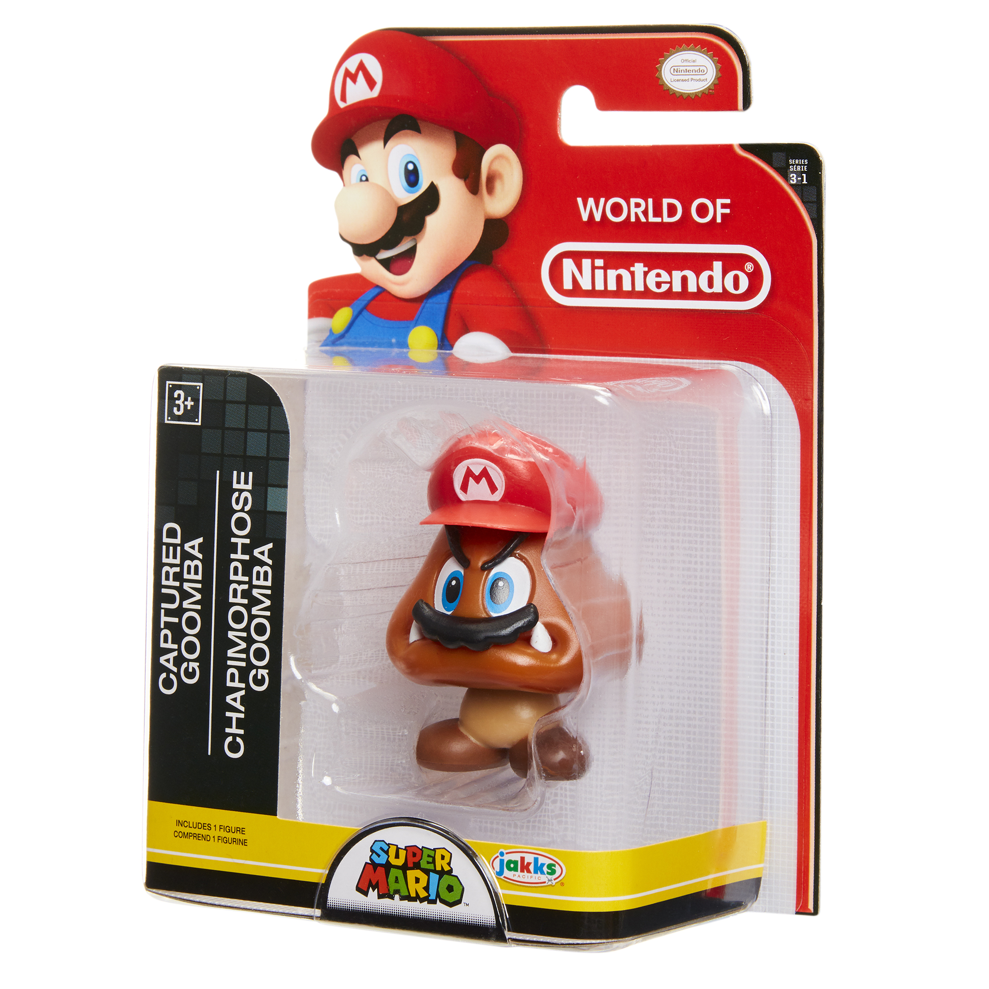 Super Mario 2.5 Limited Articulation Wave 16 Cappy Goomba