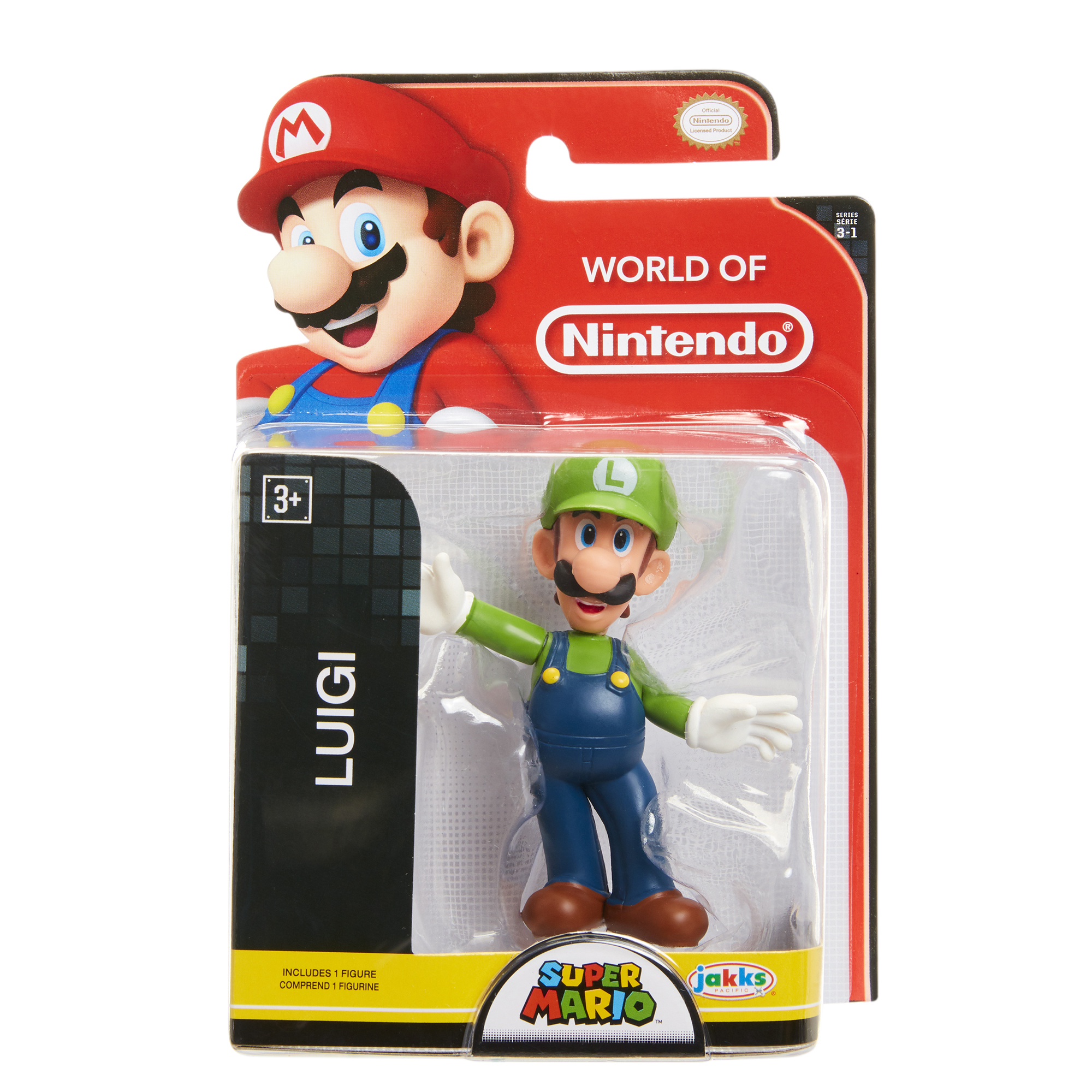 Super Mario 2.5 Limited Articulation Wave 16 Luigi