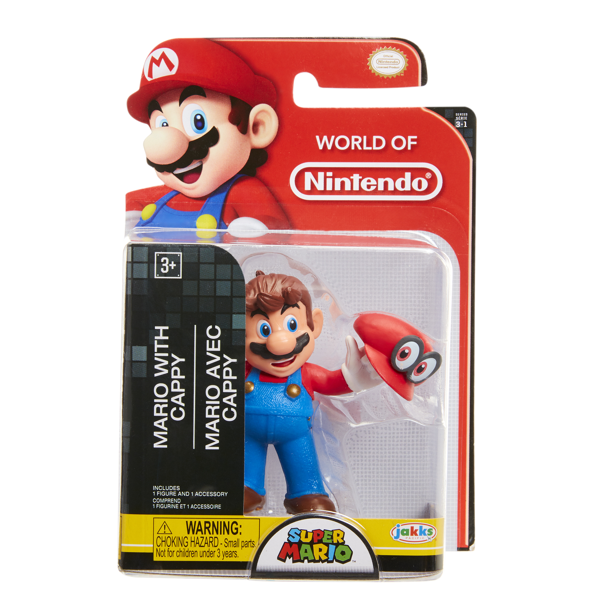Super Mario 2.5 Limited Articulation Wave 16 Cappy Mario