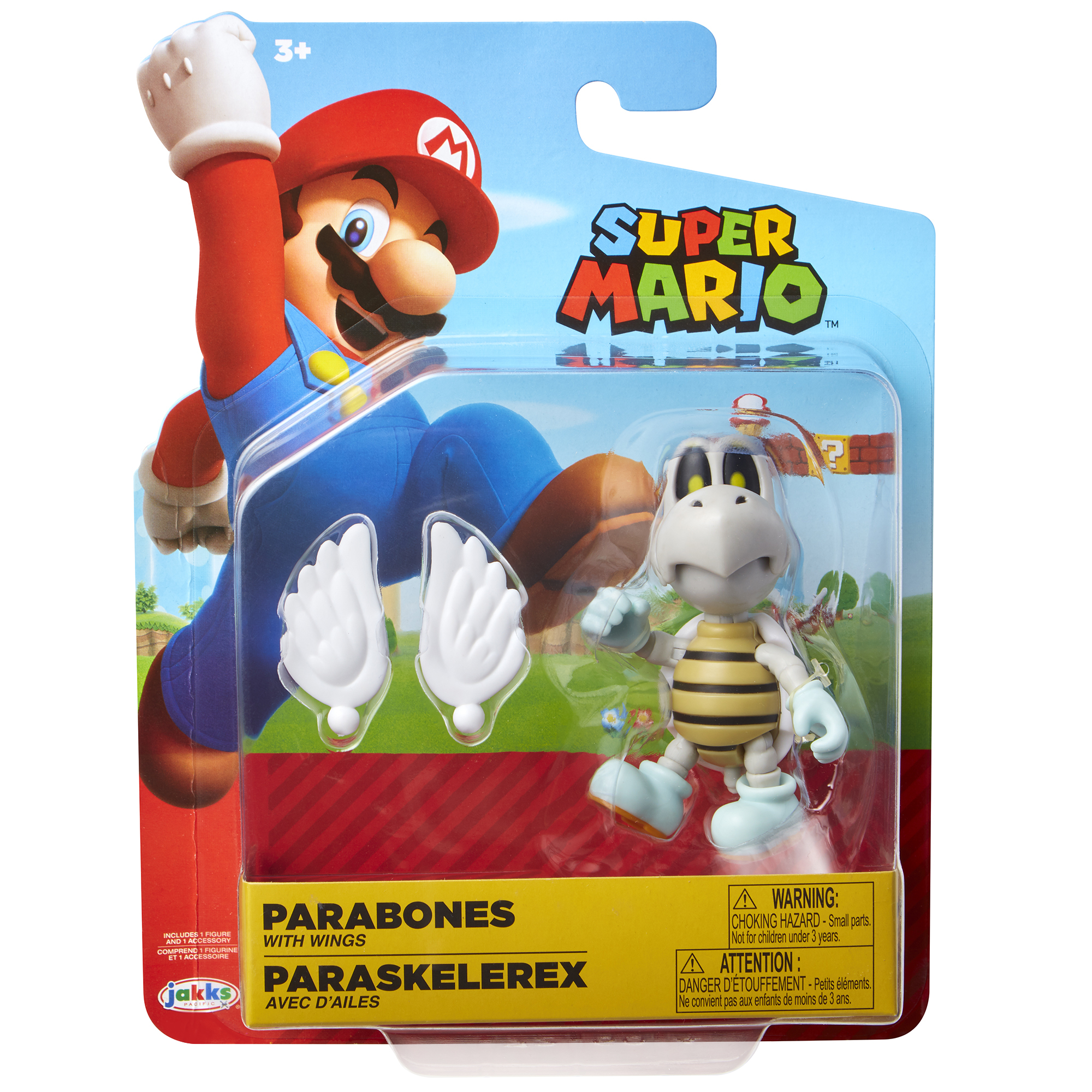Super Mario 4 Figure Parabones w/ Wings