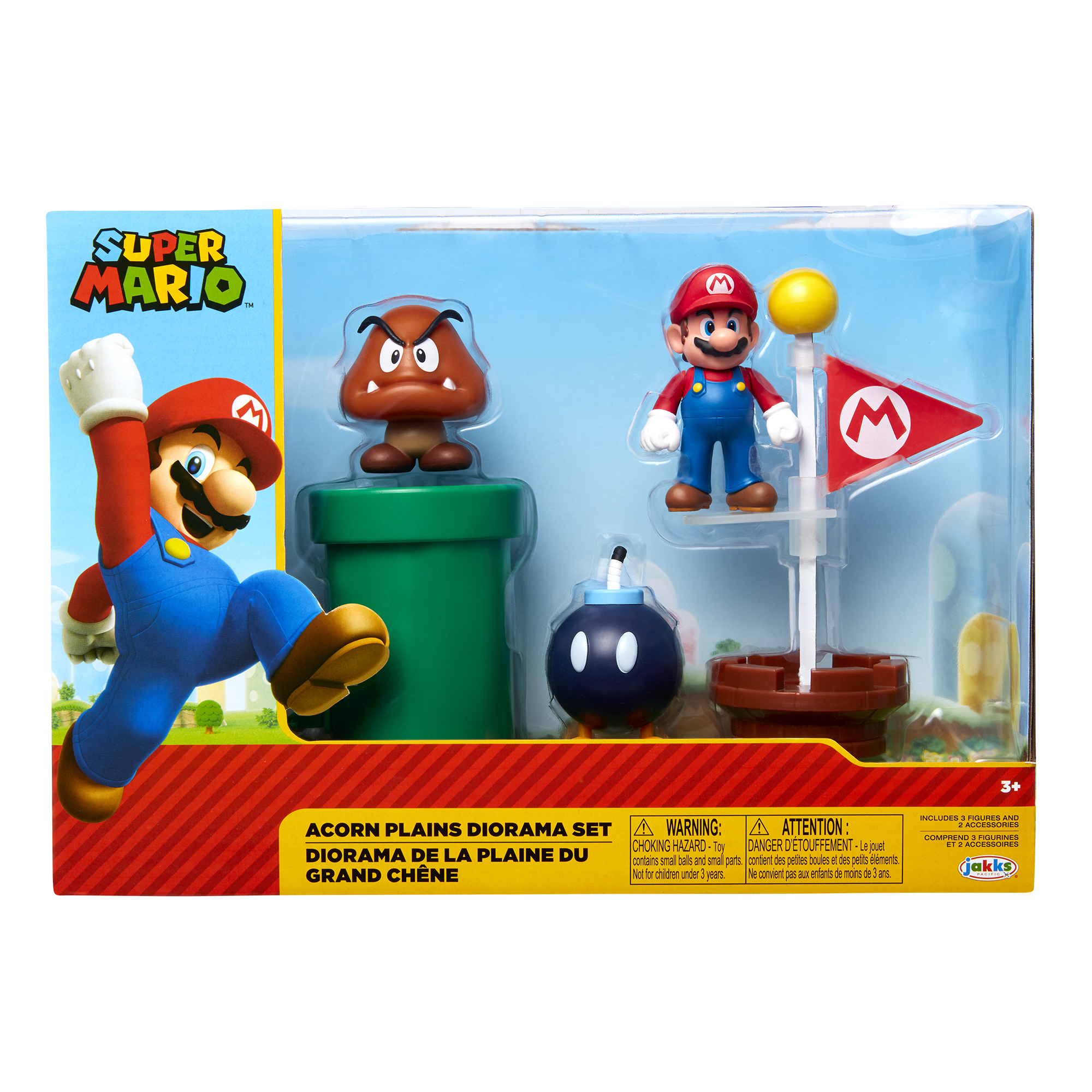 Super Mario 2.5 Acorn Plains Diorama Set