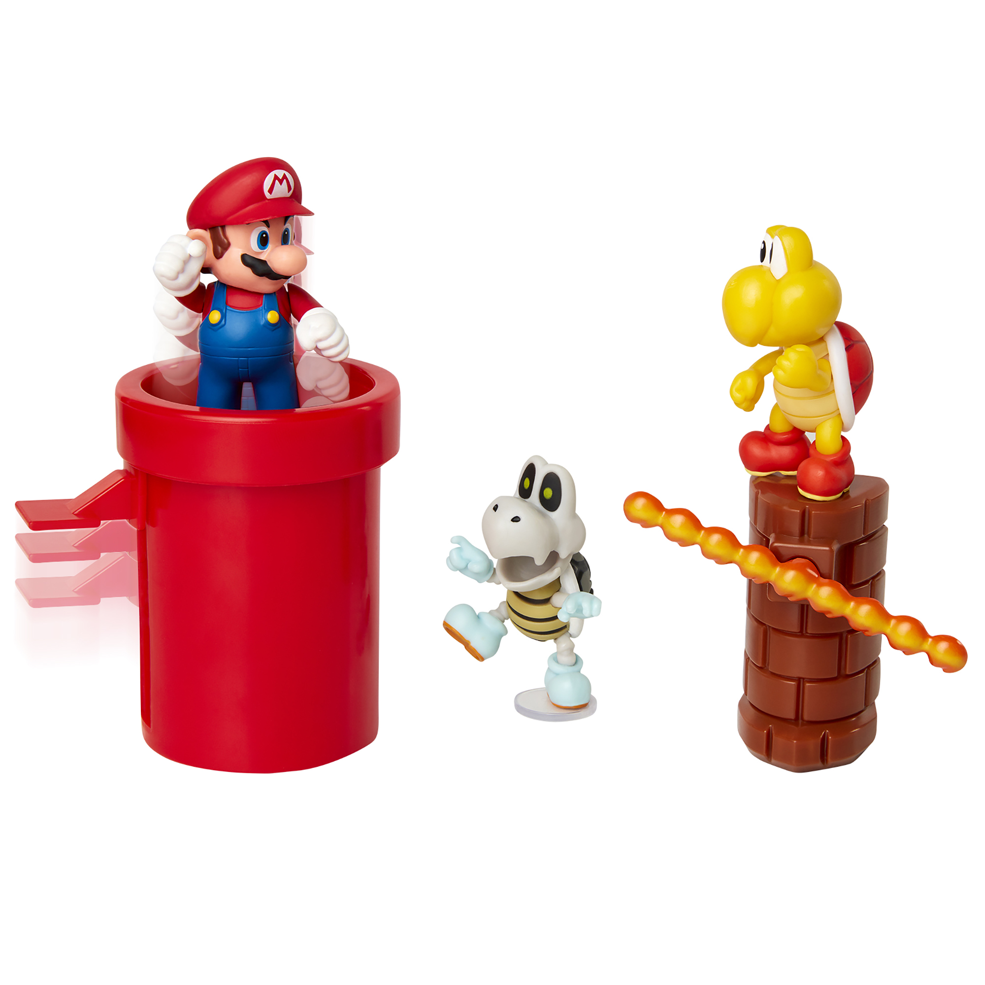 Super Mario 2.5 Dungeon Diorama Set