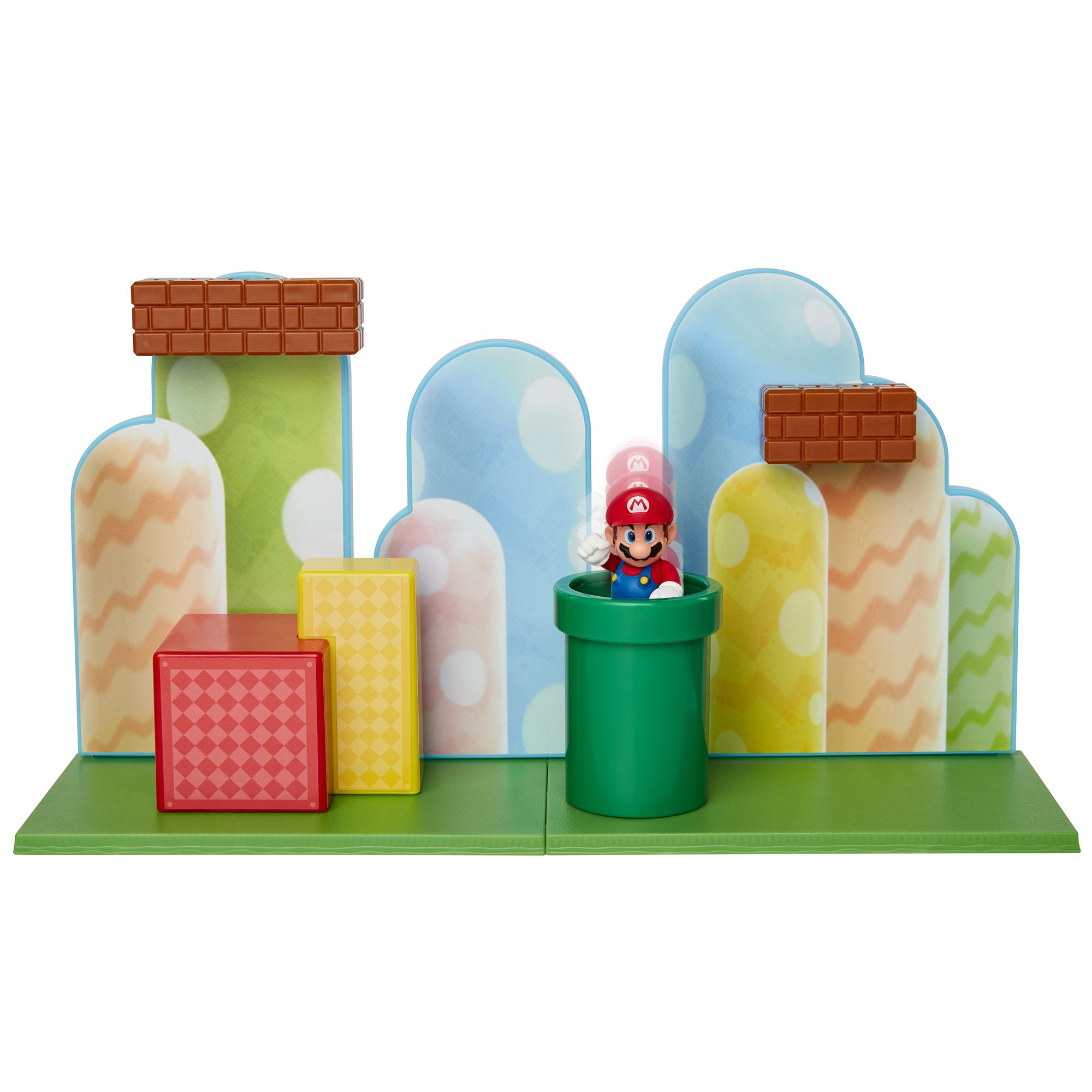 Super Mario 2.5 Acorn Plains Playset
