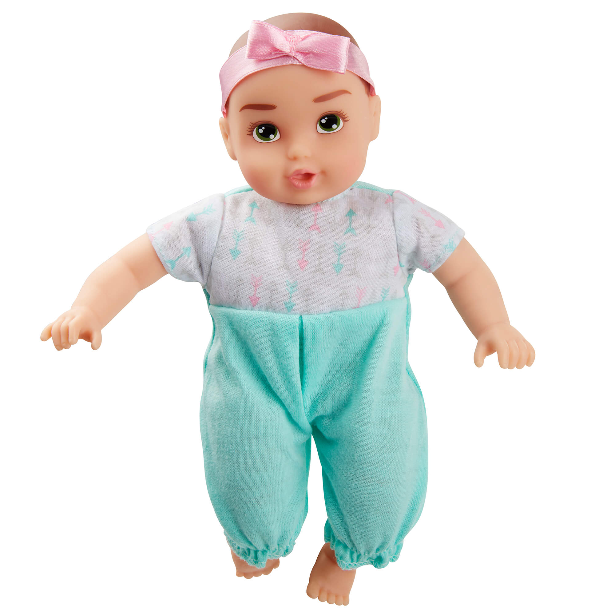 Perfectly Cute Baby 8 inch My Lil' Baby Girl Doll (Brunette - Hazel Eyes)