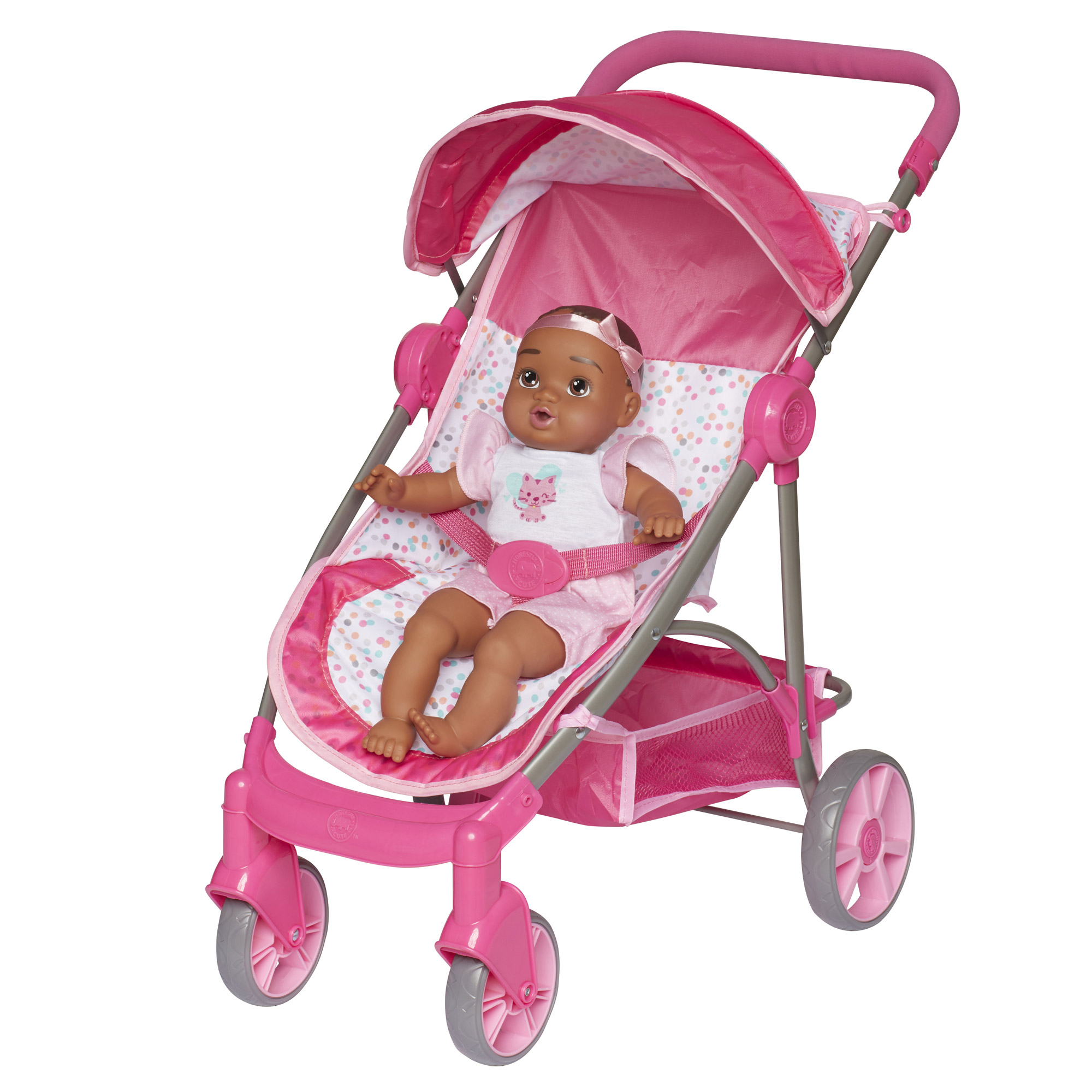 Perfectly Cute Baby Doll Deluxe Stroller