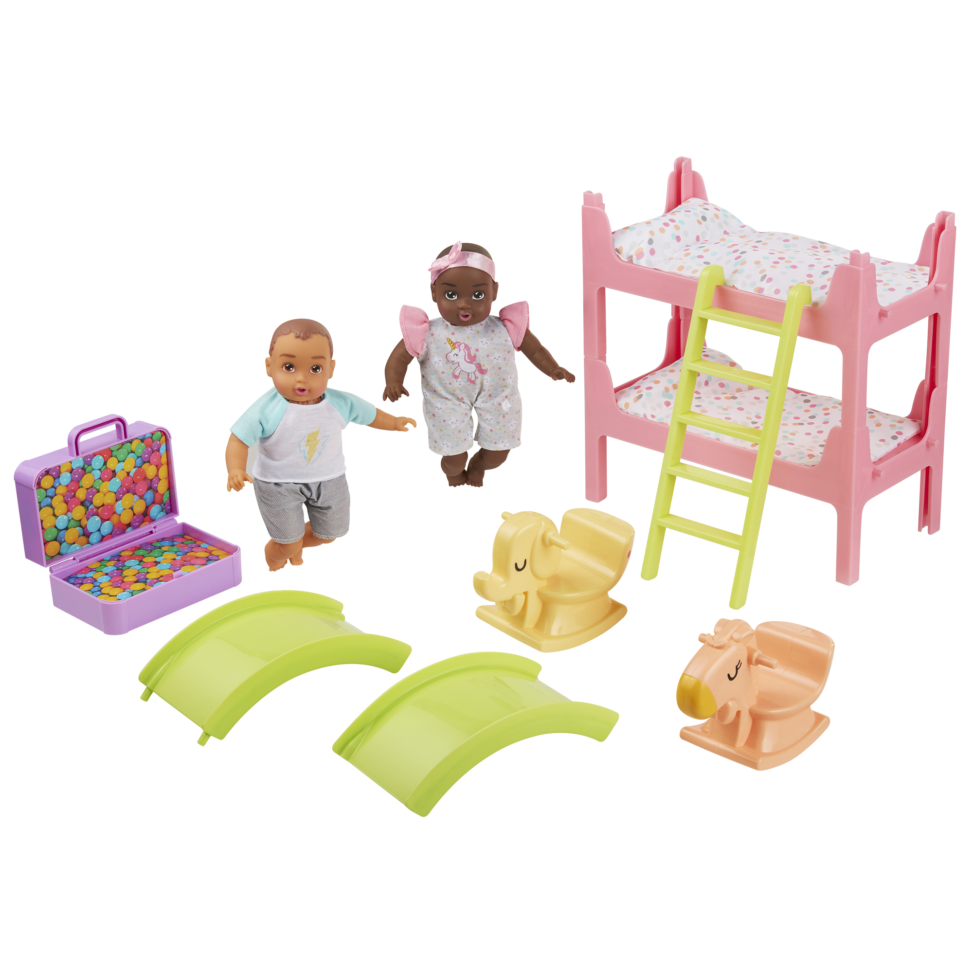 Perfectly Cute My Lil Baby ' Baby Bunk Bed Playroom Playset