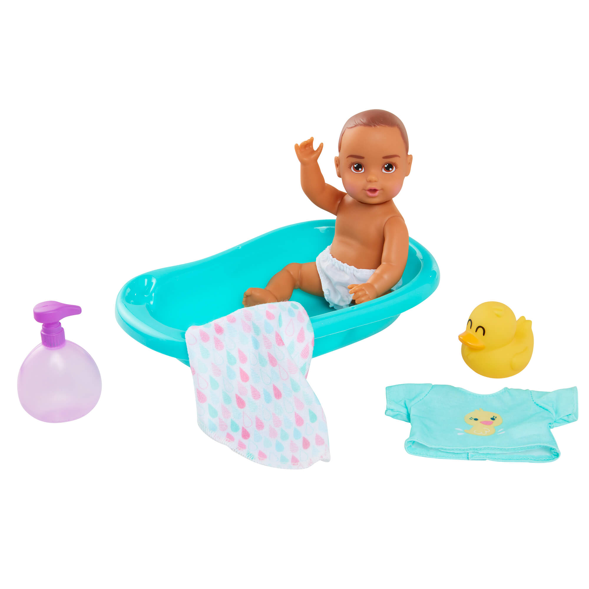 Perfectly Cute Baby My Lil' Baby Bath Time Playset