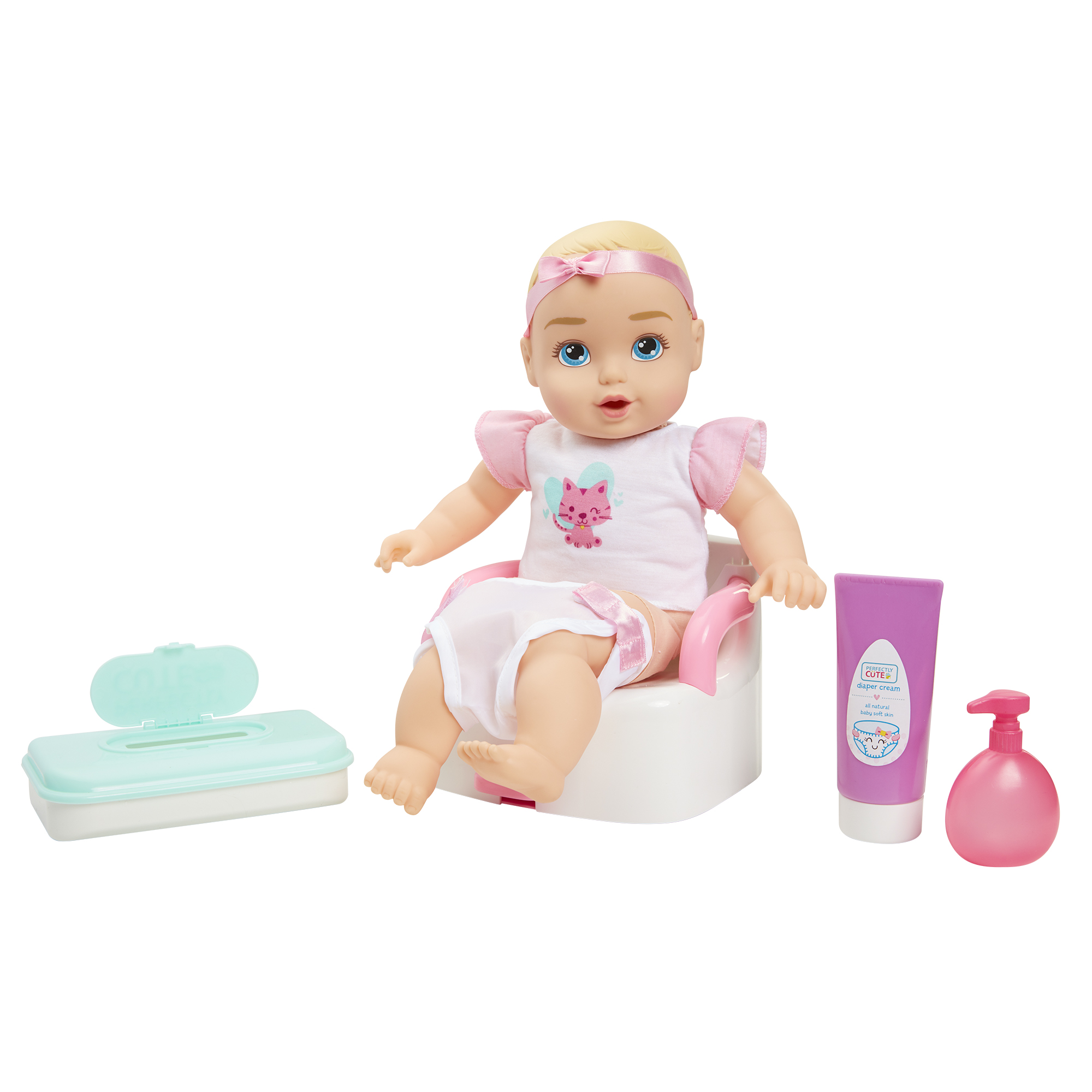 Perfectly Cute Baby My Sweet Baby Potty Training Playset