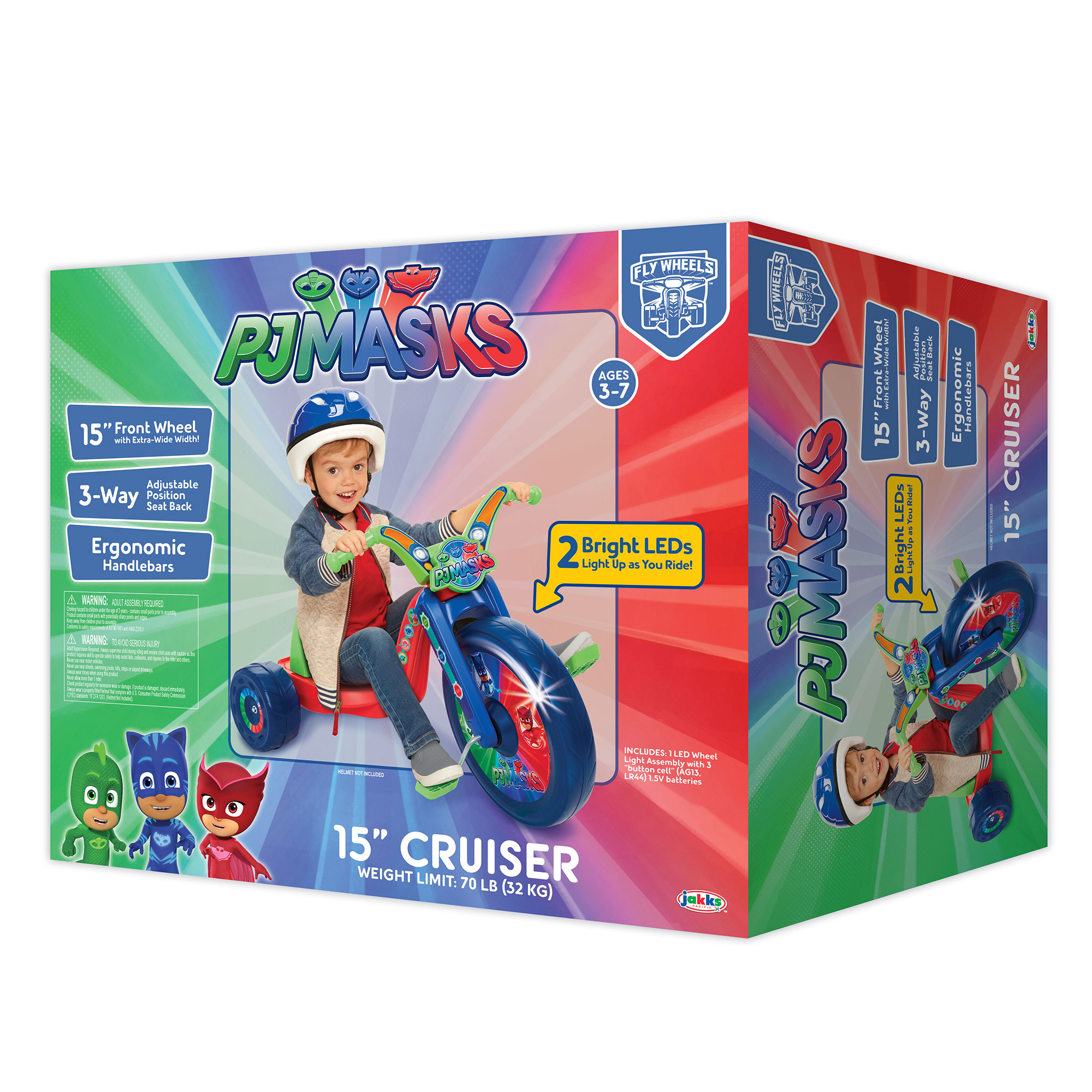 PJ Masks 15in Fly Wheels