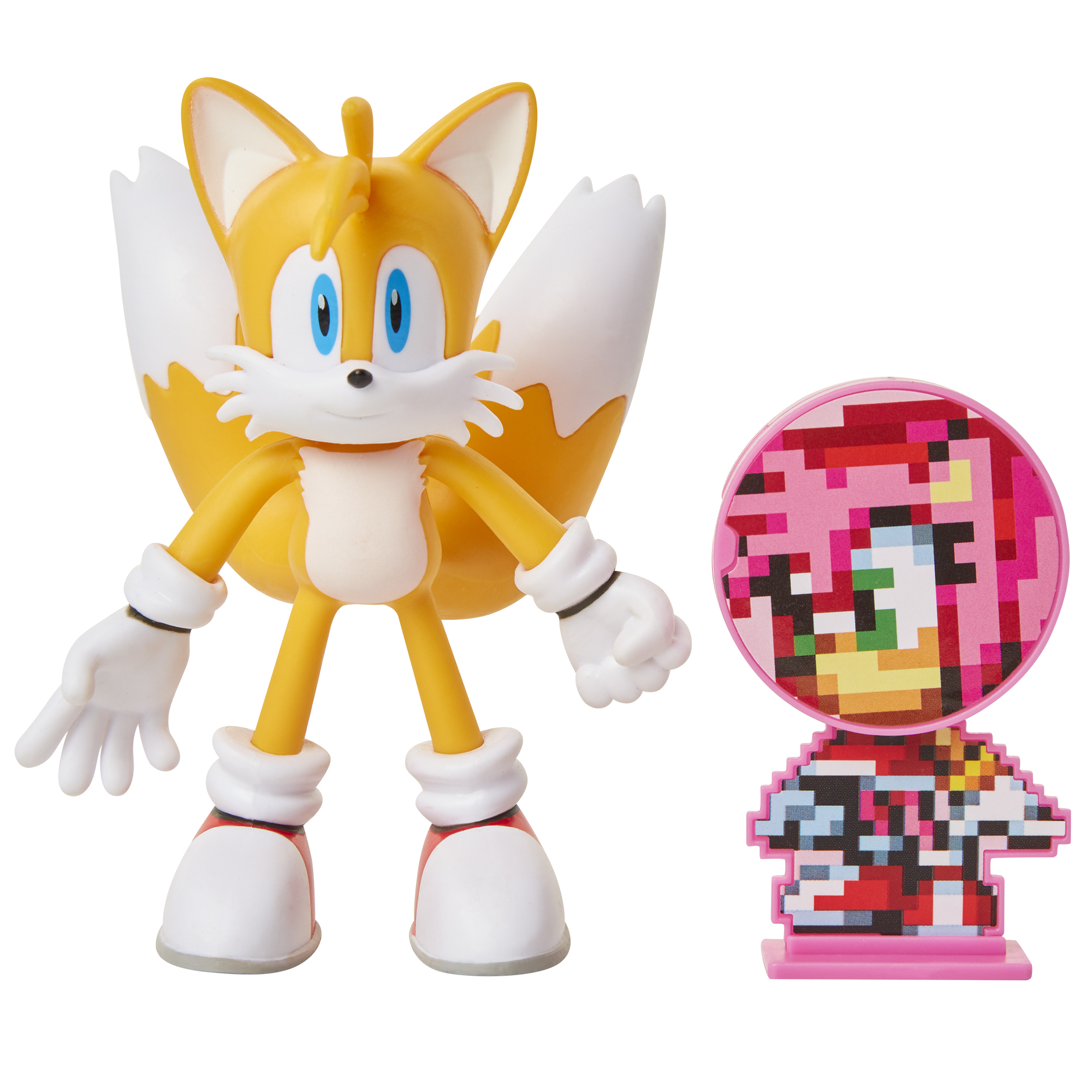 Sonic the Hedgehog - 4in Bendable Action Figures w/ accessory Wave 1 - Tails