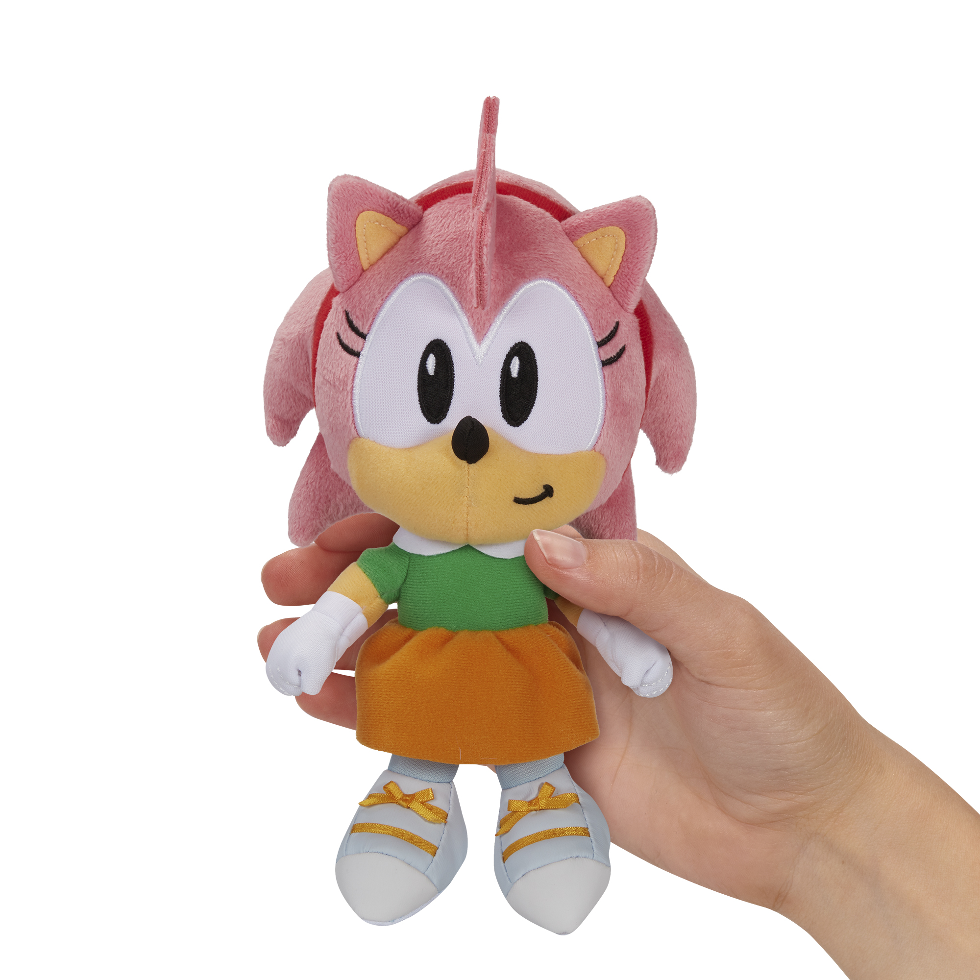 "Sonic the Hedgehog 7/"" SONIC Plushie JAKKS Plush"