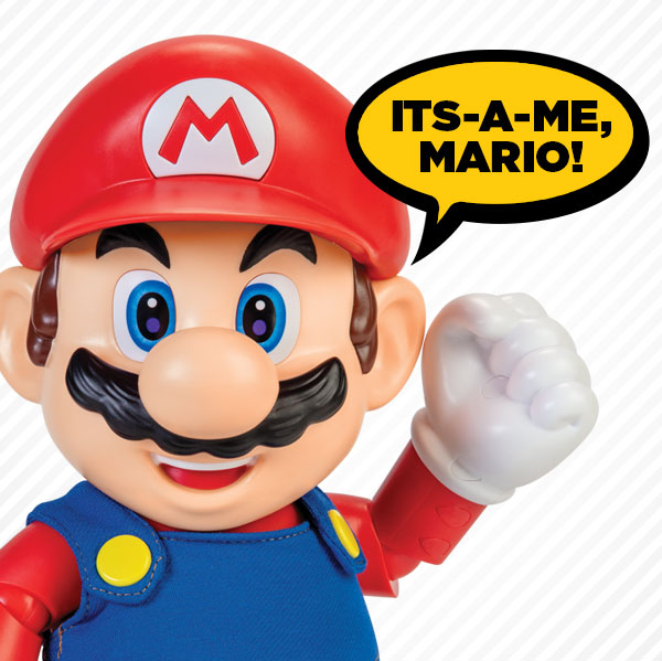Mario's Iconic Phrases Image
