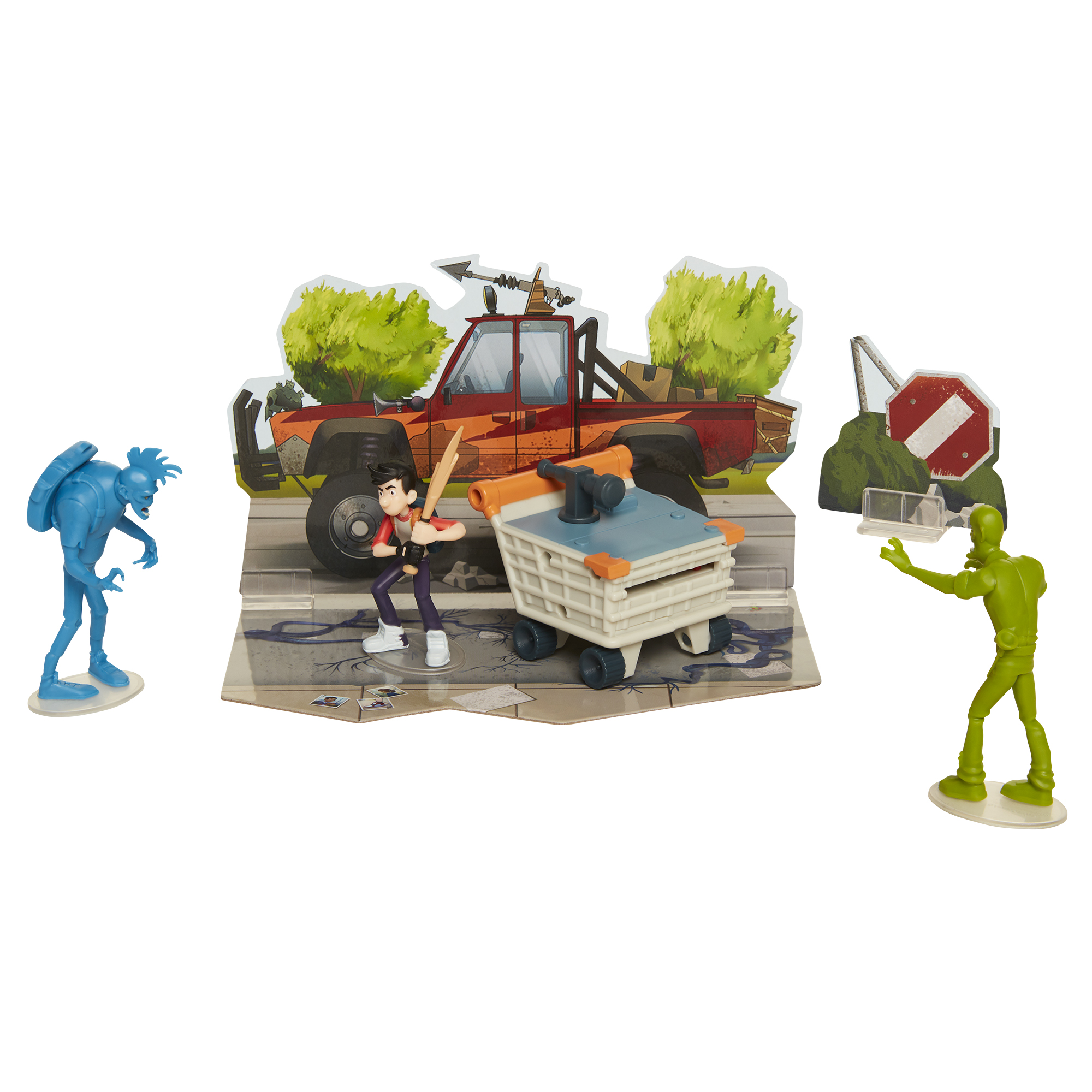 Jack + Zombies Hero Pack 2.5in Wave 1