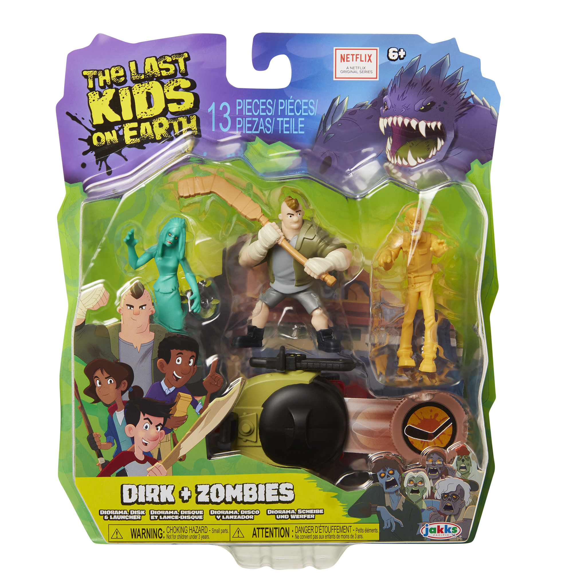 Dirk + Zombies Hero Pack 2.5in Wave 1