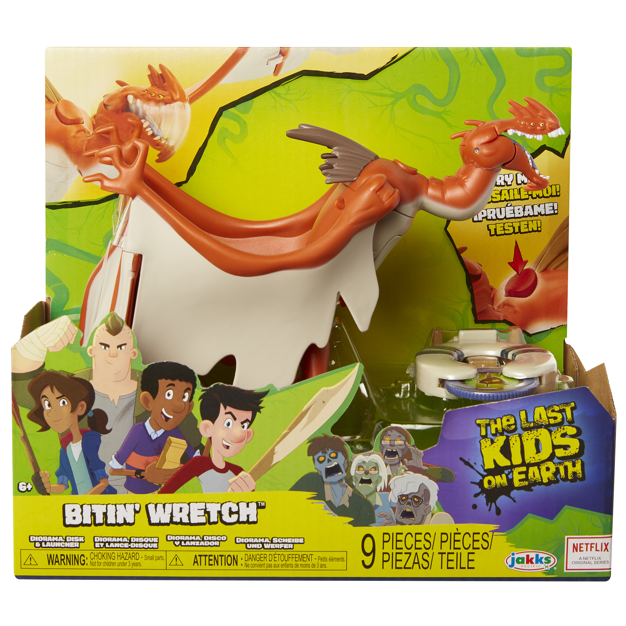 Bitin' Wretch Monster Figure Assortment Wave 1